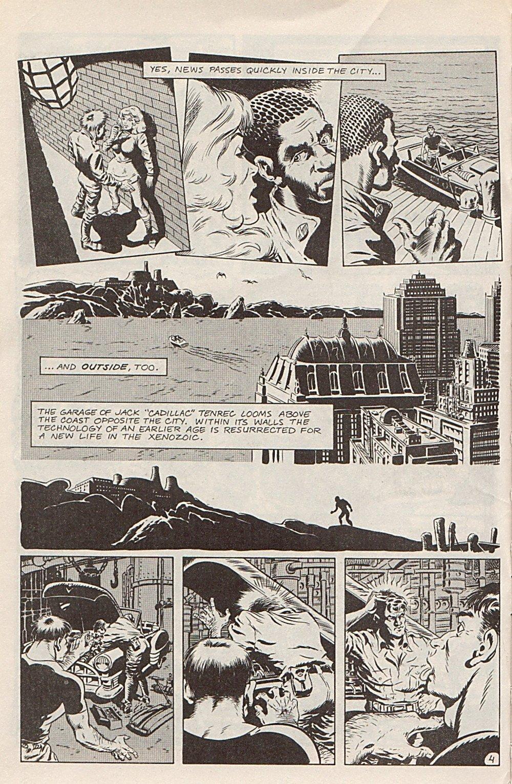 Read online Xenozoic Tales comic -  Issue #1 - 7