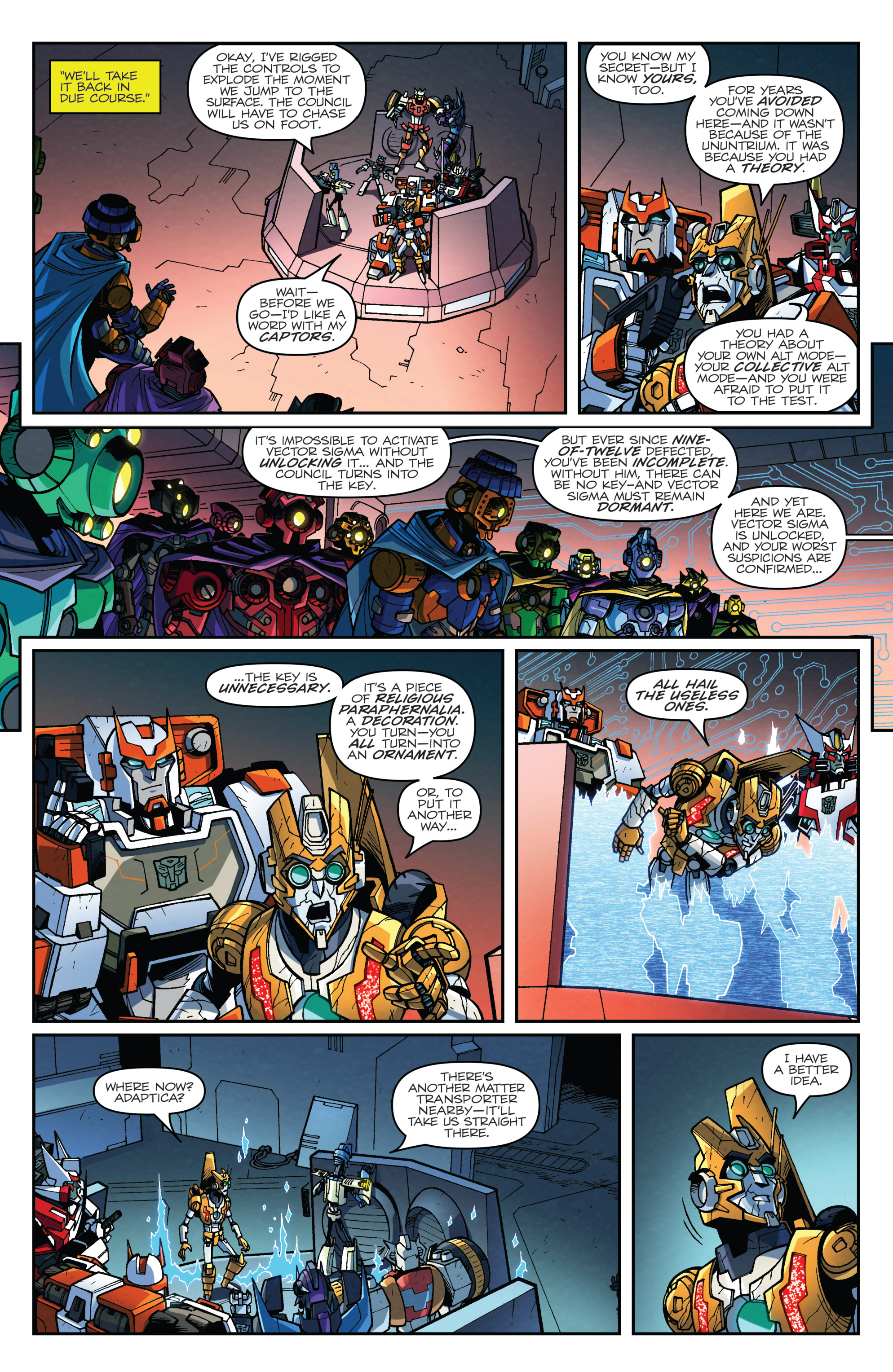 Read online Transformers: Lost Light comic -  Issue #5 - 6