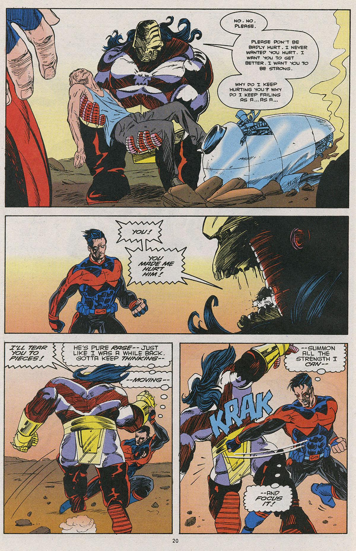 Read online Wonder Man (1991) comic -  Issue #27 - 16