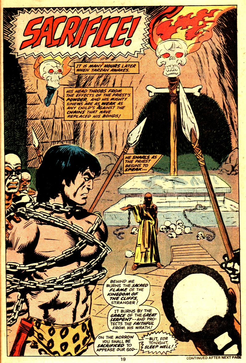 Read online Tarzan (1977) comic -  Issue # _Annual 2 - 17