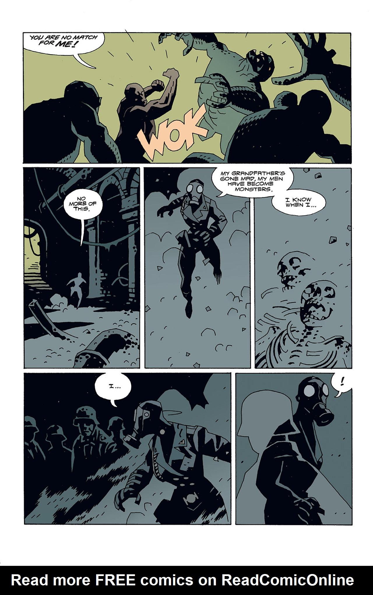 Read online Hellboy: Conqueror Worm comic -  Issue #3 - 10