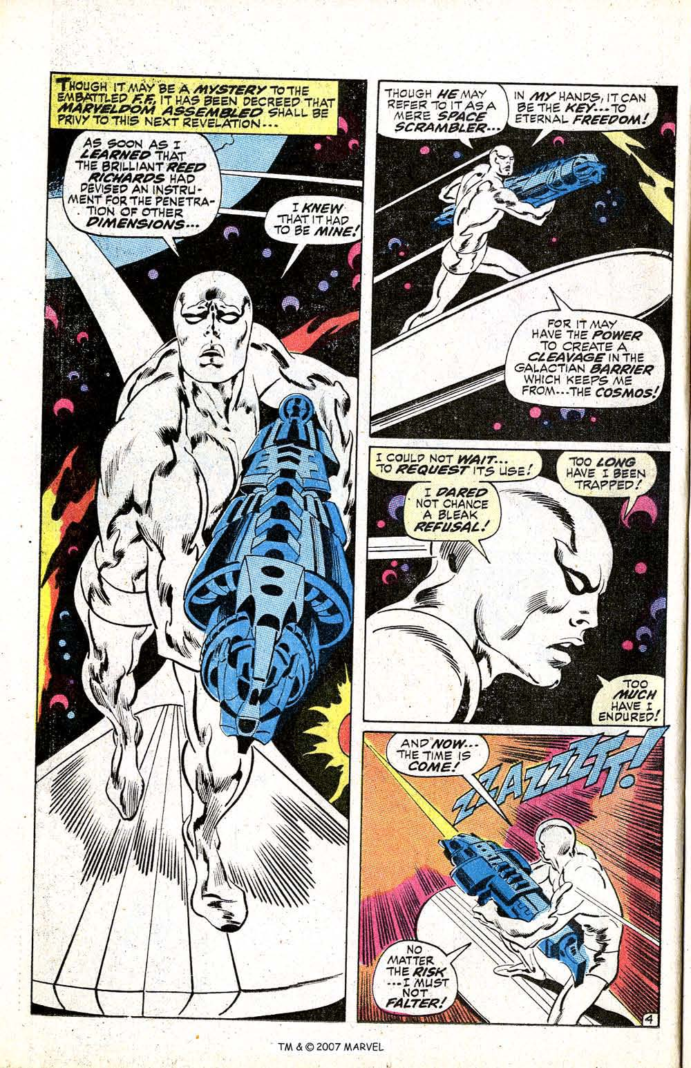Read online Silver Surfer (1968) comic -  Issue #5 - 6