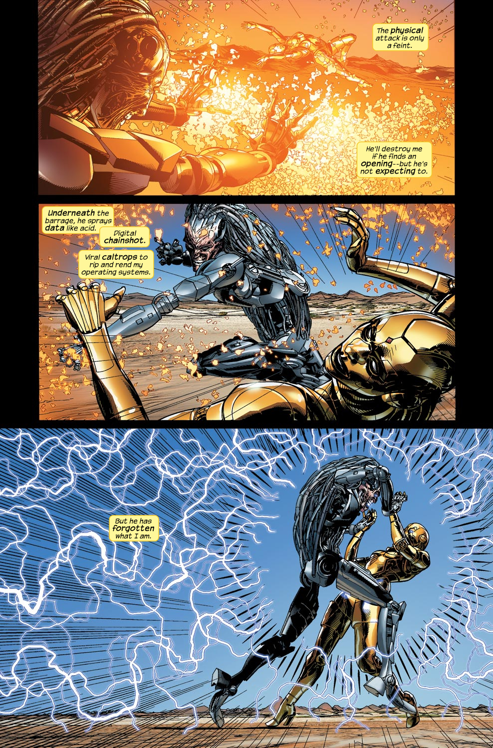 Read online Ultimate Vision comic -  Issue #4 - 13