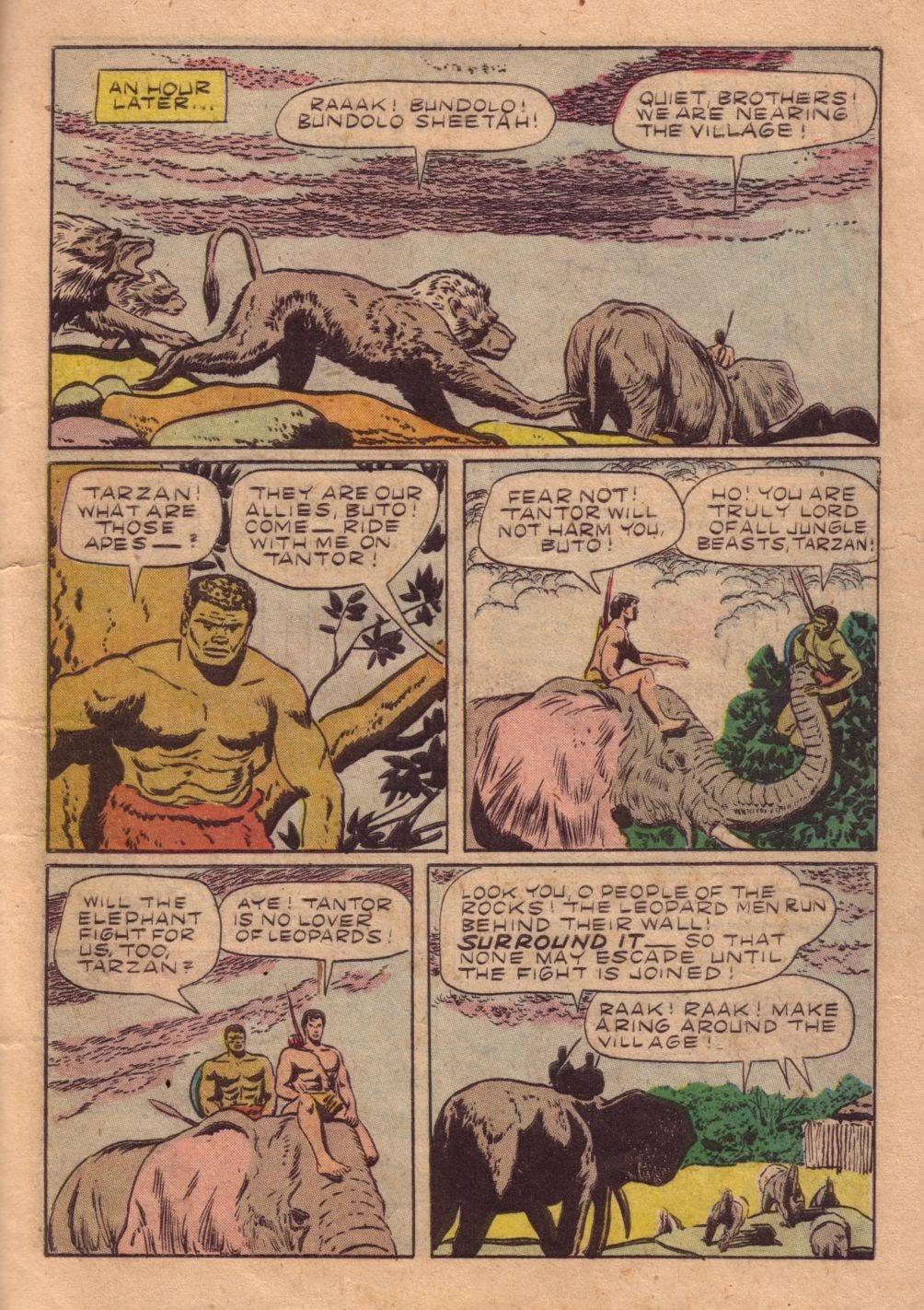 Tarzan (1948) issue 40 - Page 35
