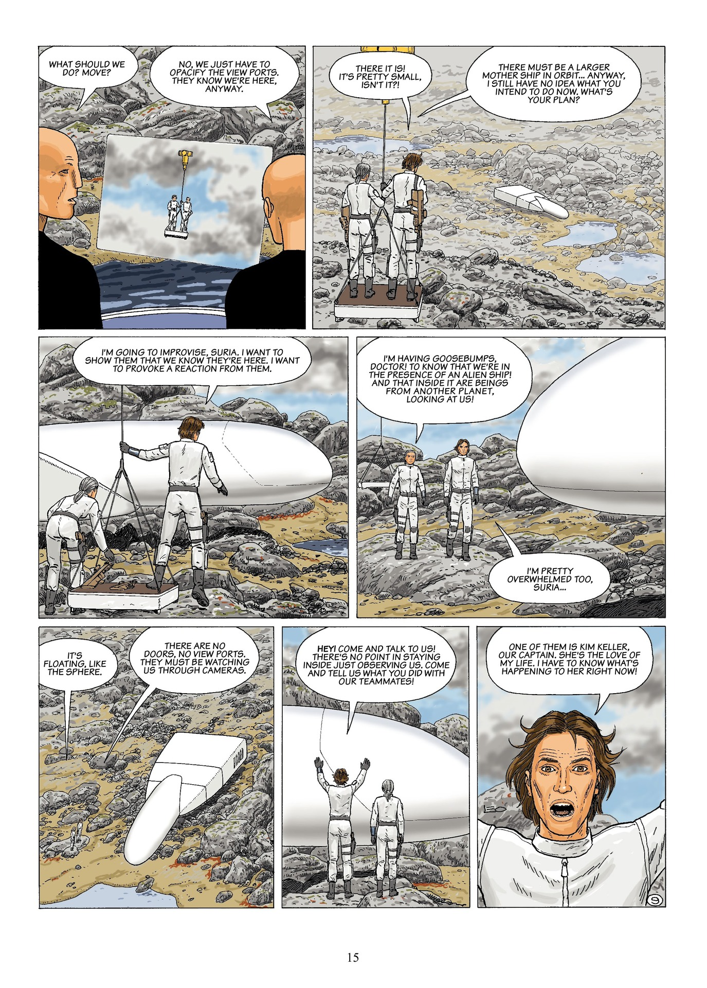 Read online Antares comic -  Issue #6 - 17