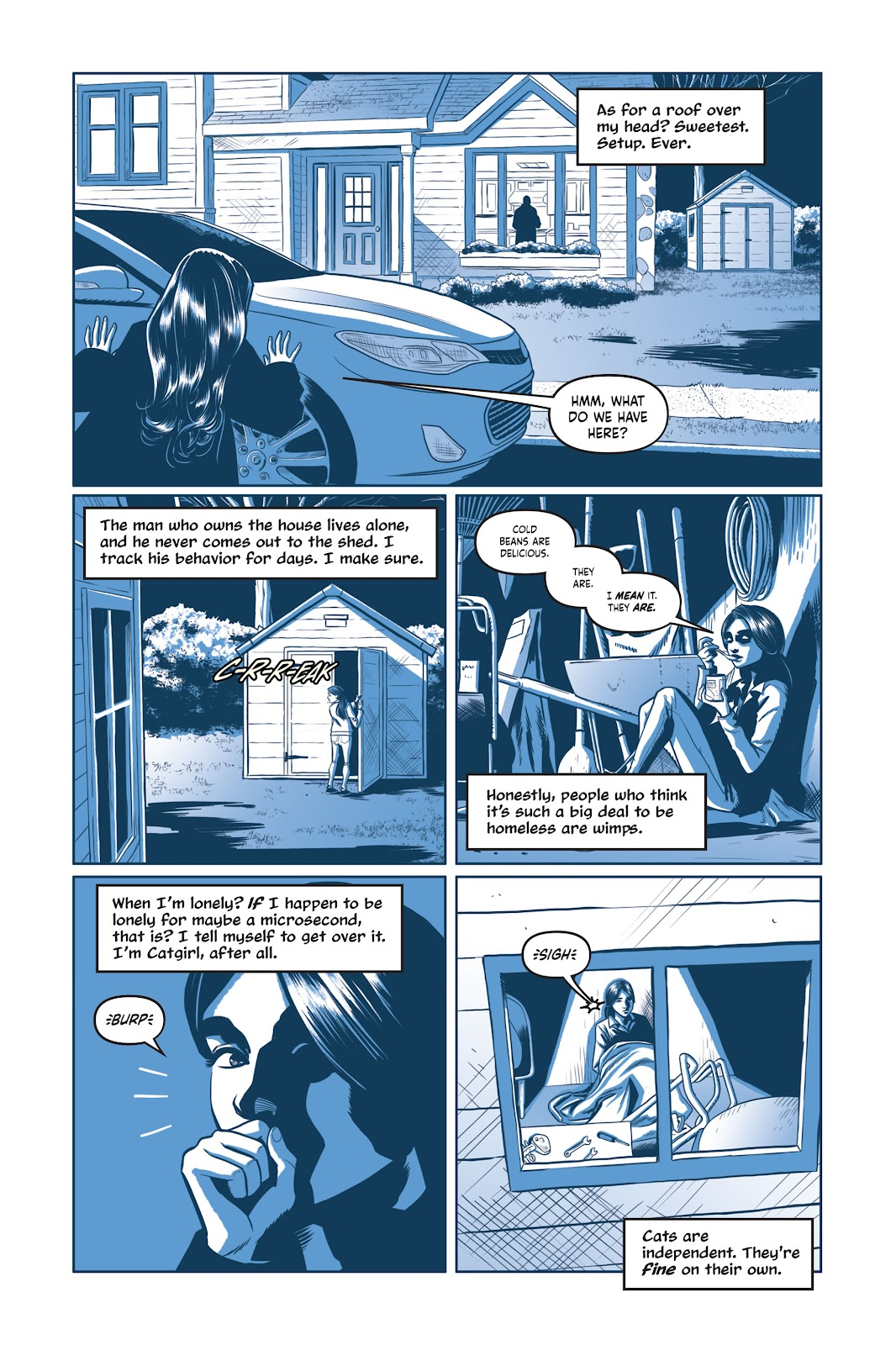 Read online Under the Moon: A Catwoman Tale comic -  Issue # TPB (Part 1) - 84