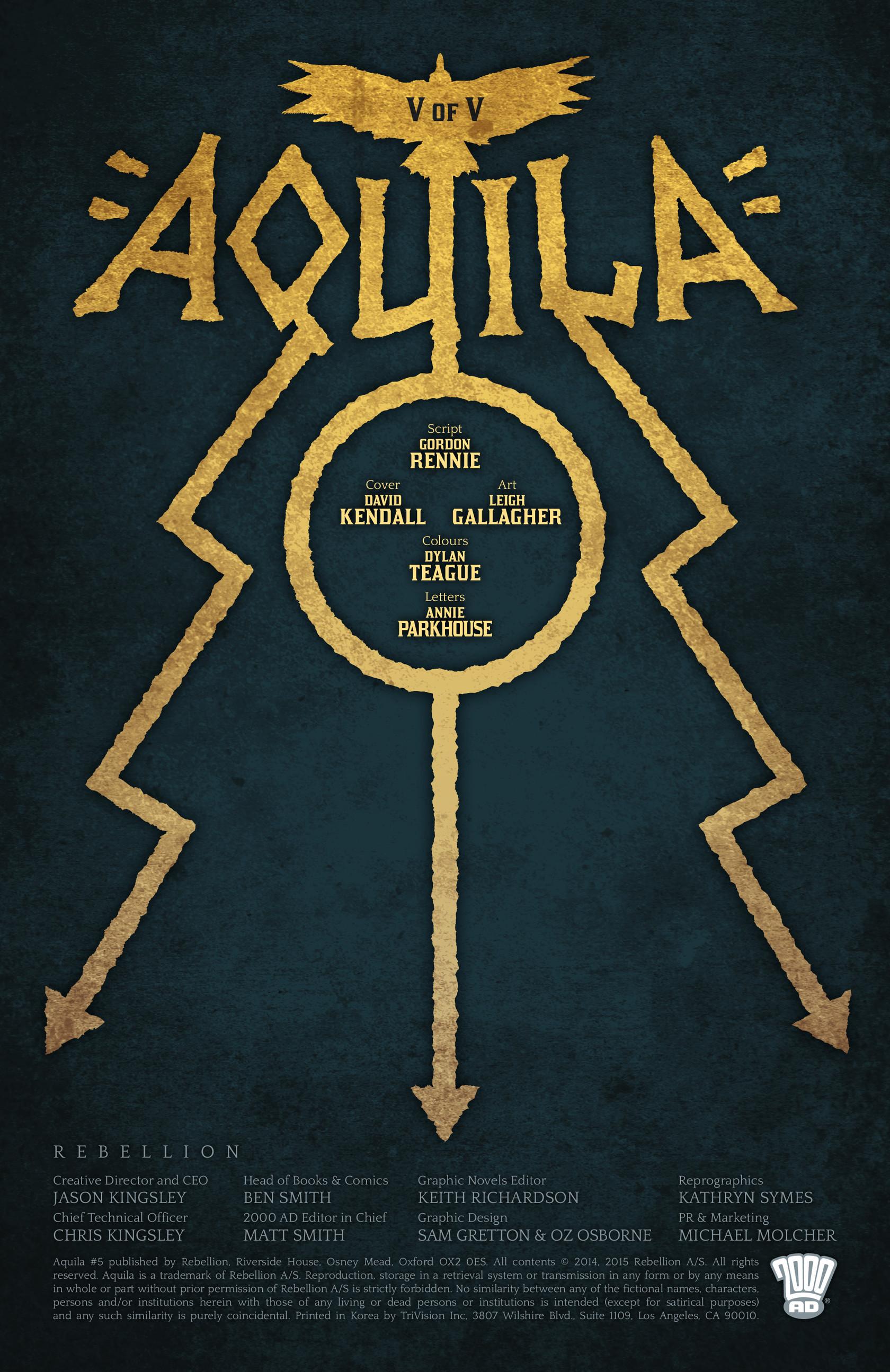 Read online Aquila comic -  Issue #5 - 2