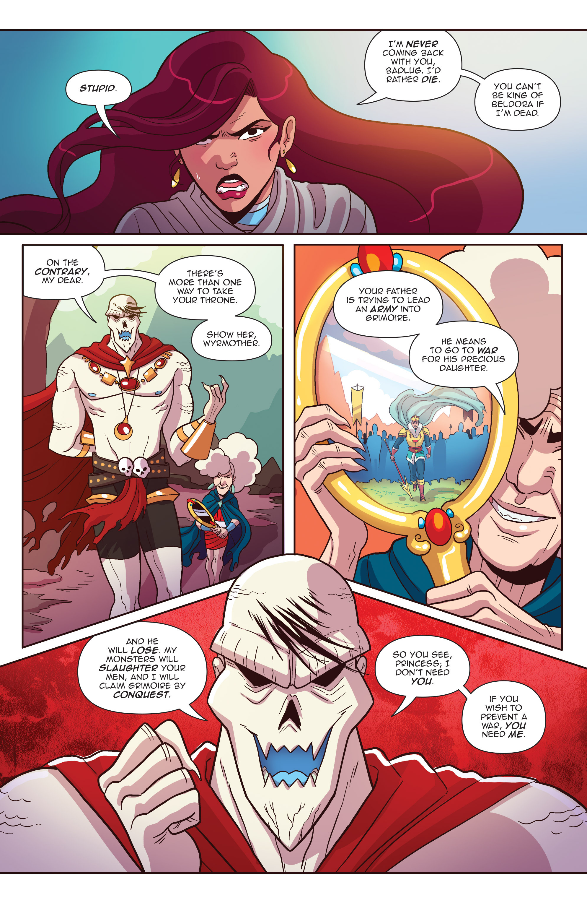 Read online Another Castle comic -  Issue #4 - 12
