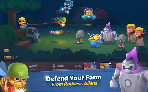 Game Farm Guns New Alien Clash Mod