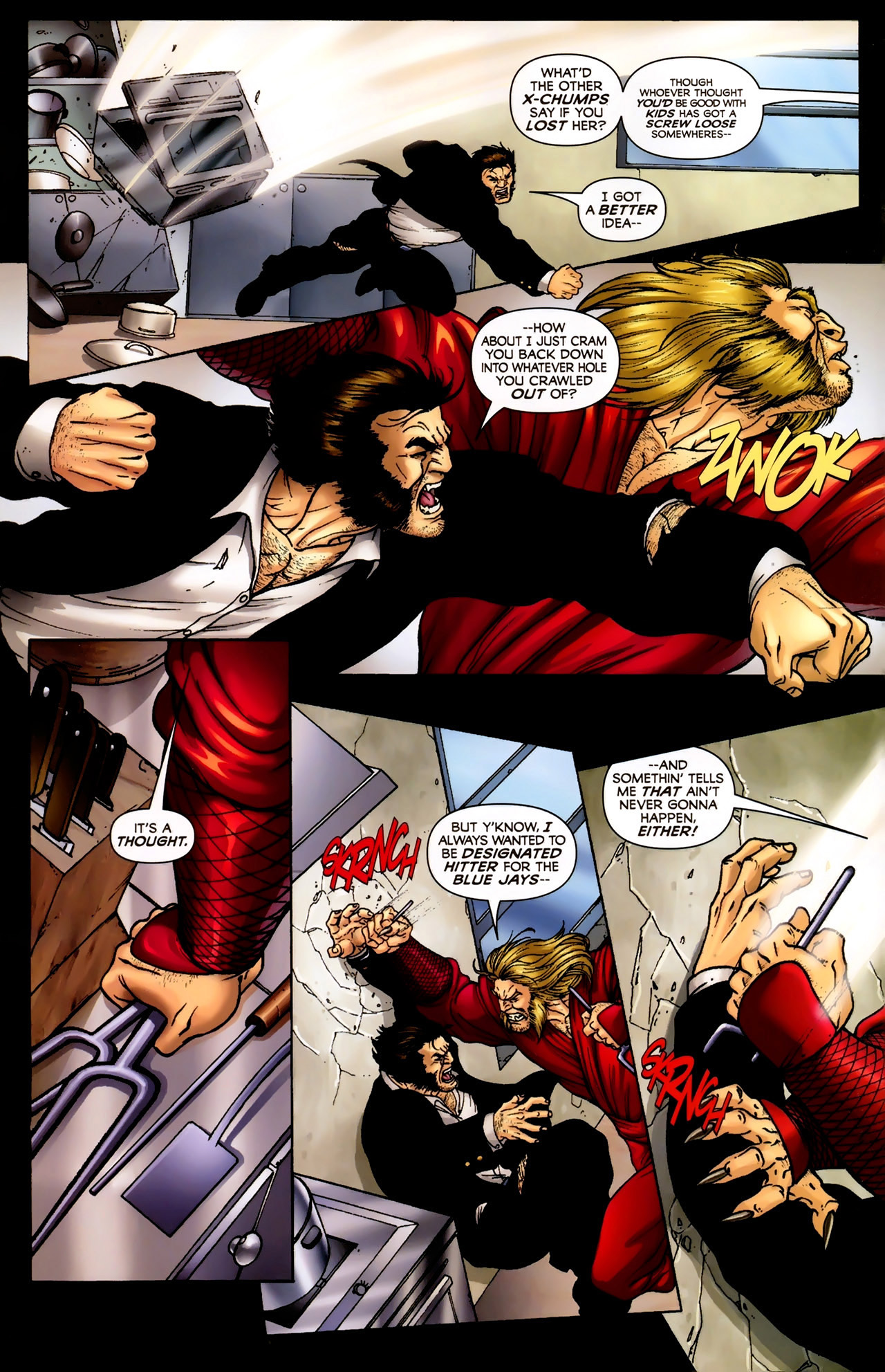 Read online Wolverine: First Class comic -  Issue #2 - 18