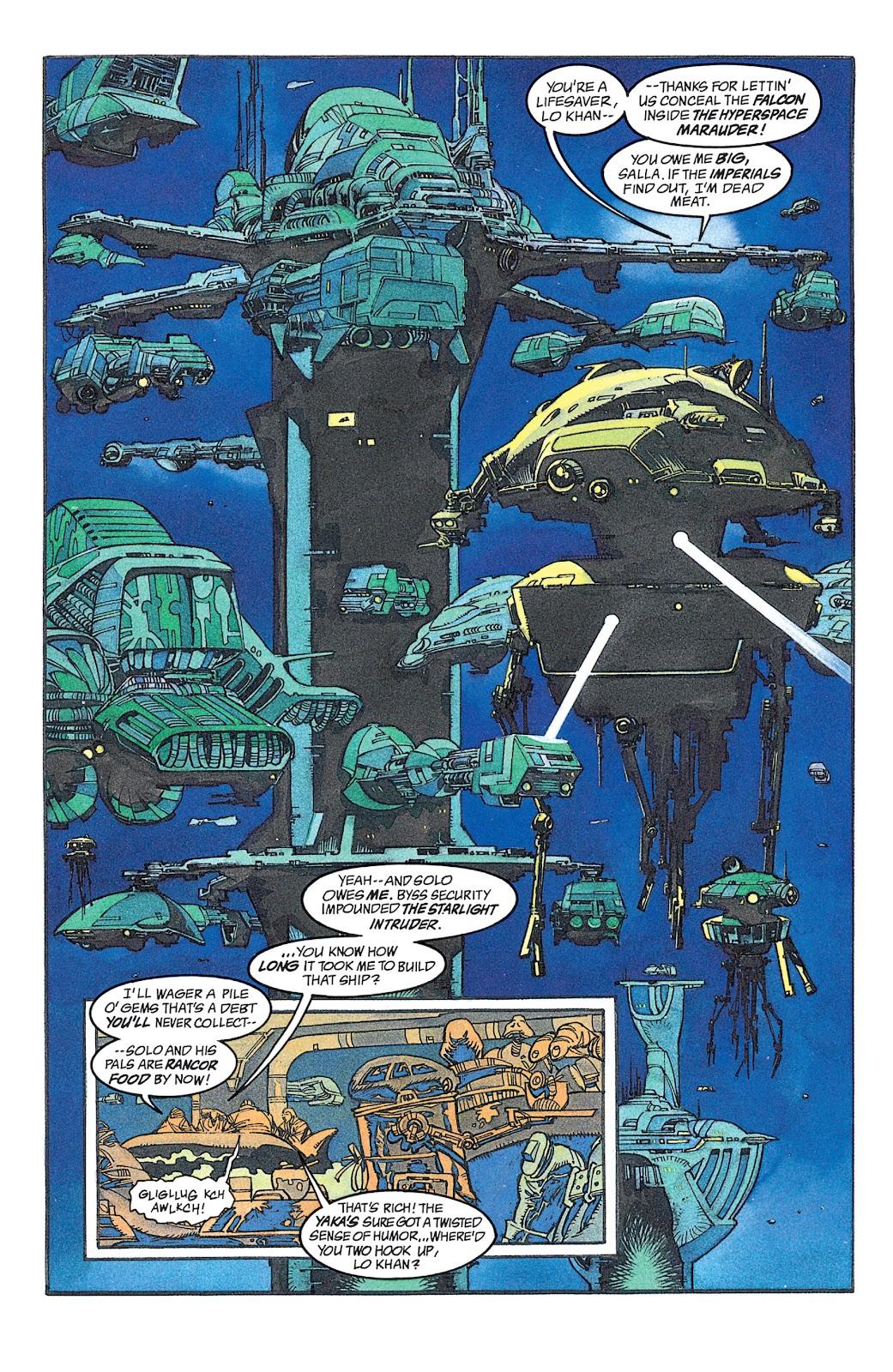 Read online Star Wars: Dark Empire Trilogy comic -  Issue # TPB (Part 2) - 7