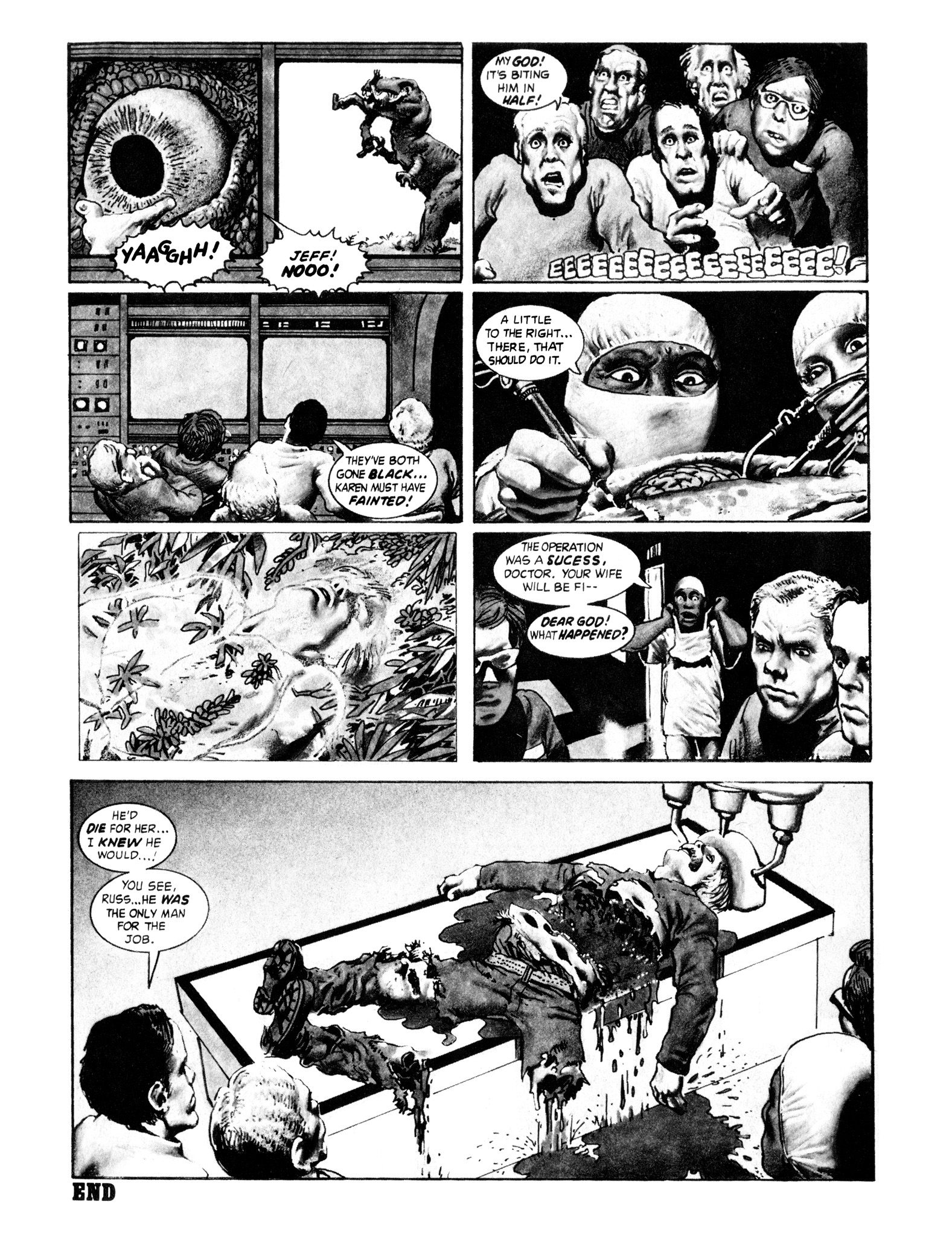 Read online Eerie Archives comic -  Issue # TPB 16 - 129