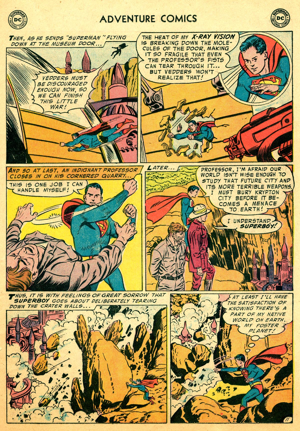 Read online Adventure Comics (1938) comic -  Issue #216 - 13