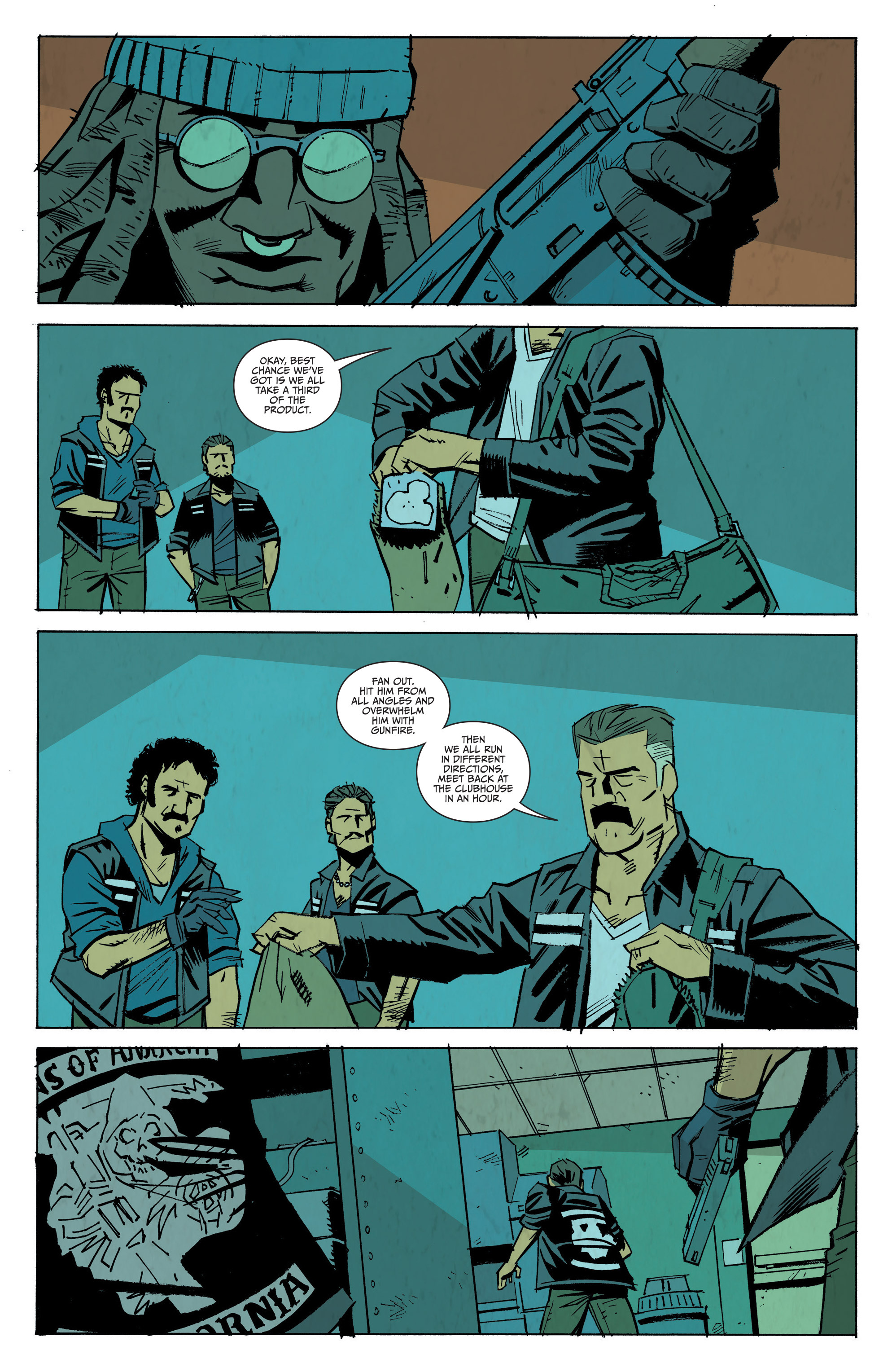 Read online Sons of Anarchy: Redwood Original comic -  Issue #8 - 5