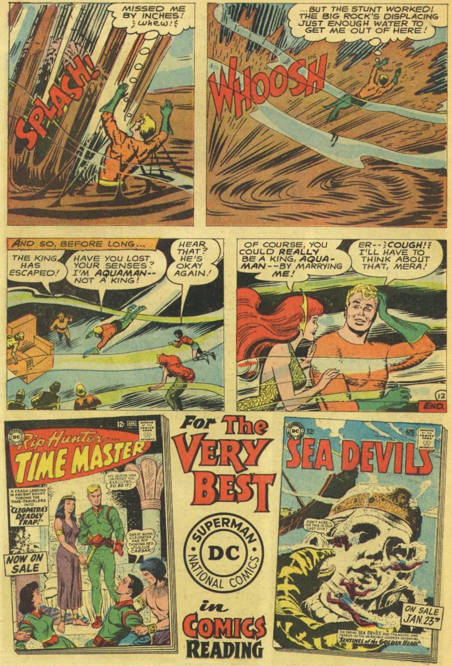 Read online Aquaman (1962) comic -  Issue #14 - 30