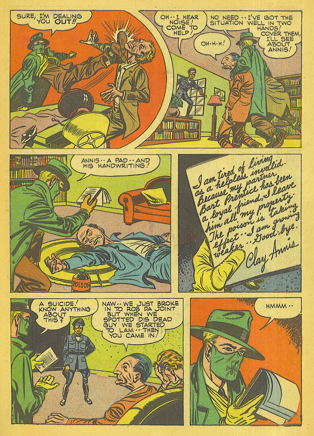 Green Hornet Comics issue 32 - Page 8