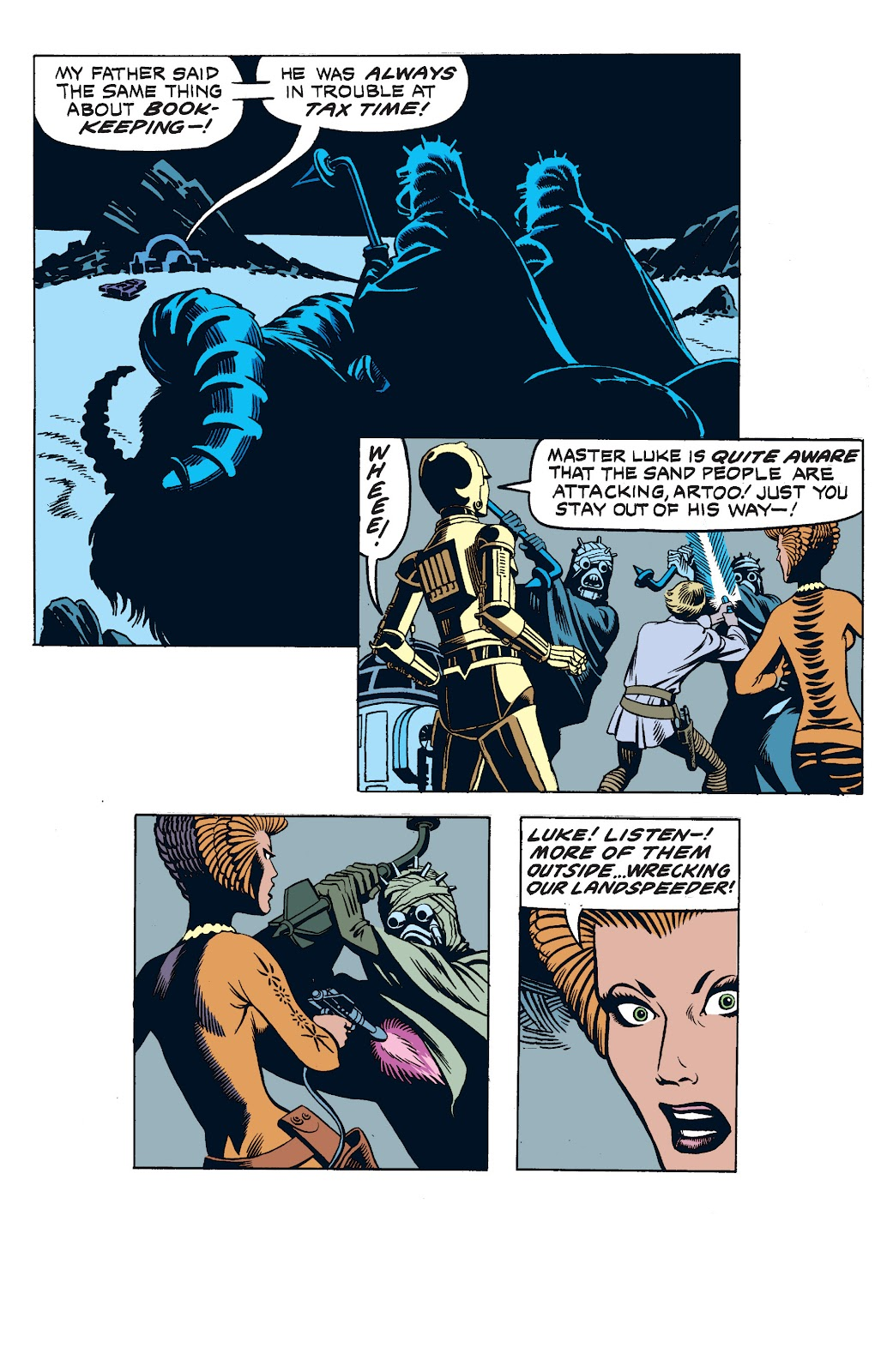 Read online Star Wars Legends: The Newspaper Strips - Epic Collection comic -  Issue # TPB (Part 2) - 34