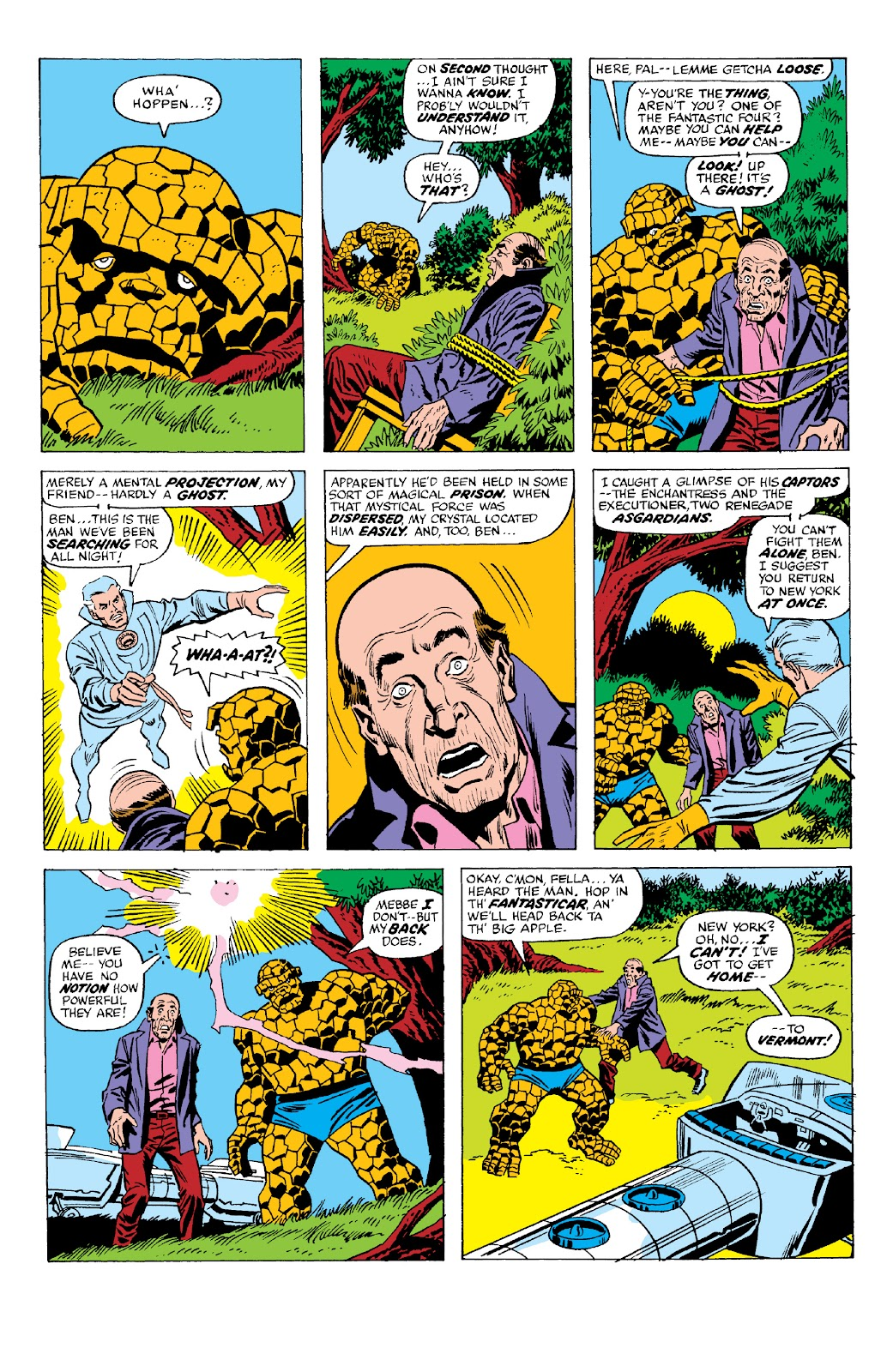 Read online Marvel Two-In-One Epic Collection: Cry Monster comic -  Issue # TPB (Part 2) - 70