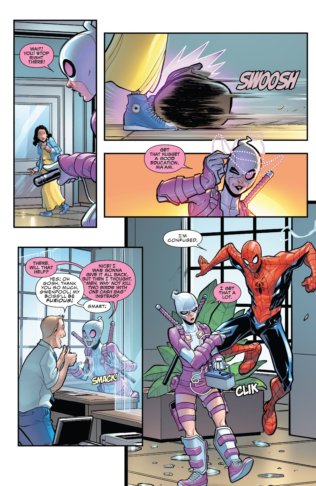 Gwenpool Strikes Back issue 1 - Page 8