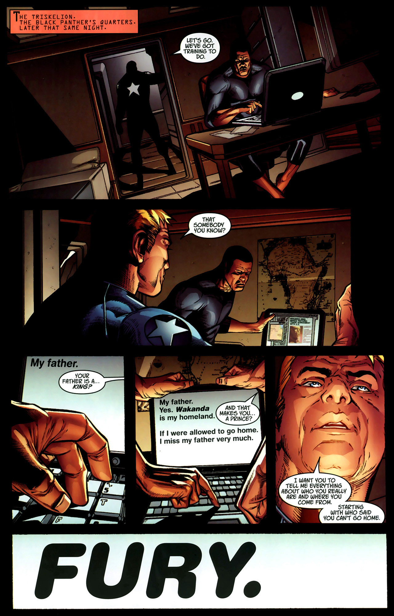 Read online Ultimate Captain America (2008) comic -  Issue # Full - 26