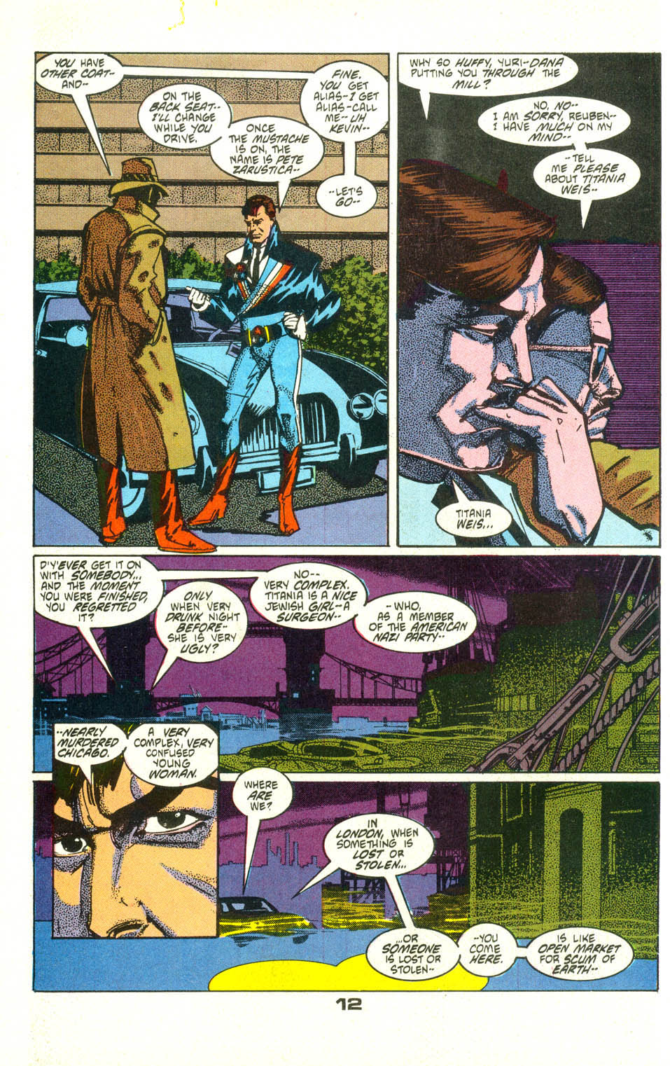 Read online American Flagg! comic -  Issue #25 - 14
