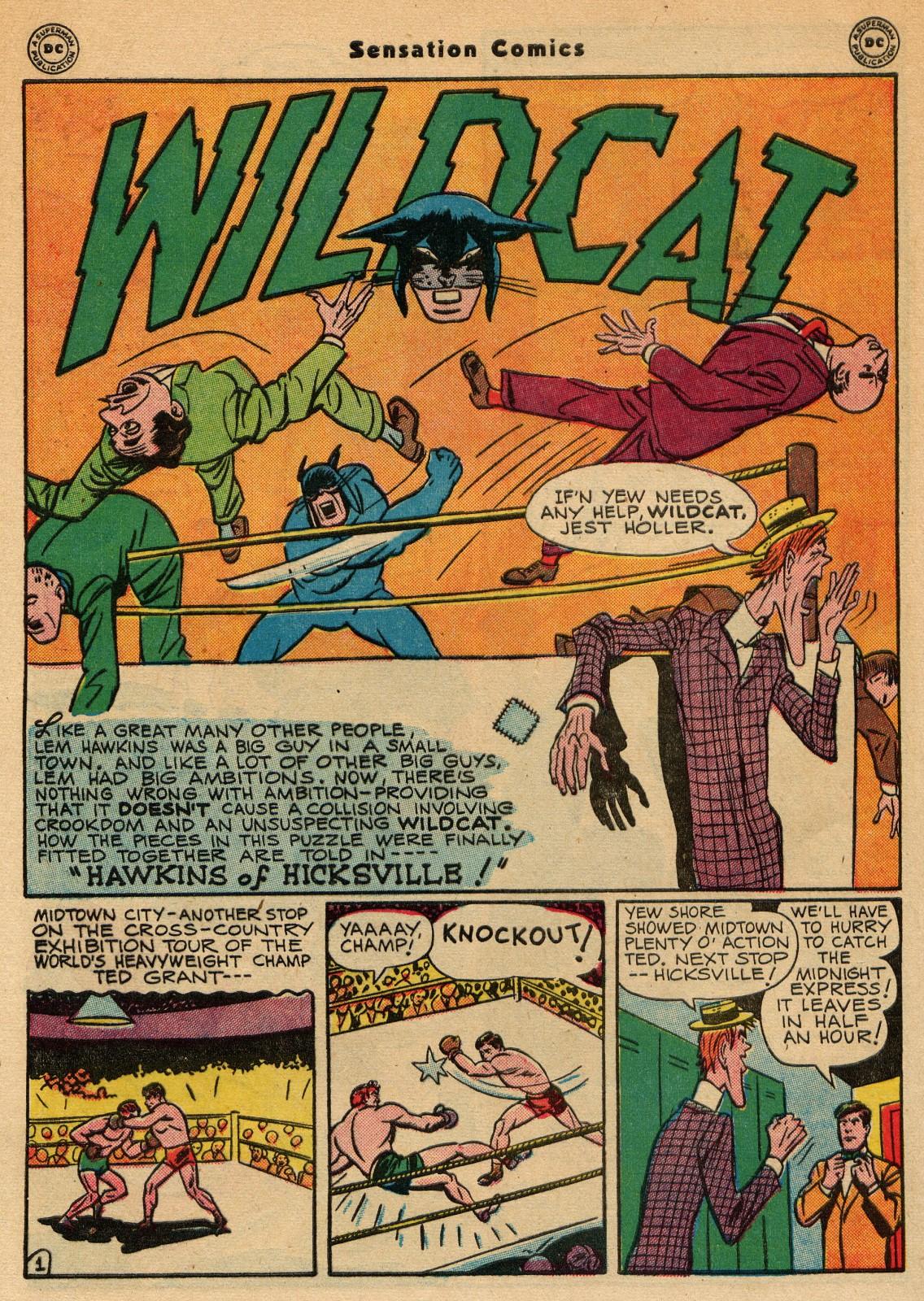 Read online Sensation (Mystery) Comics comic -  Issue #51 - 42