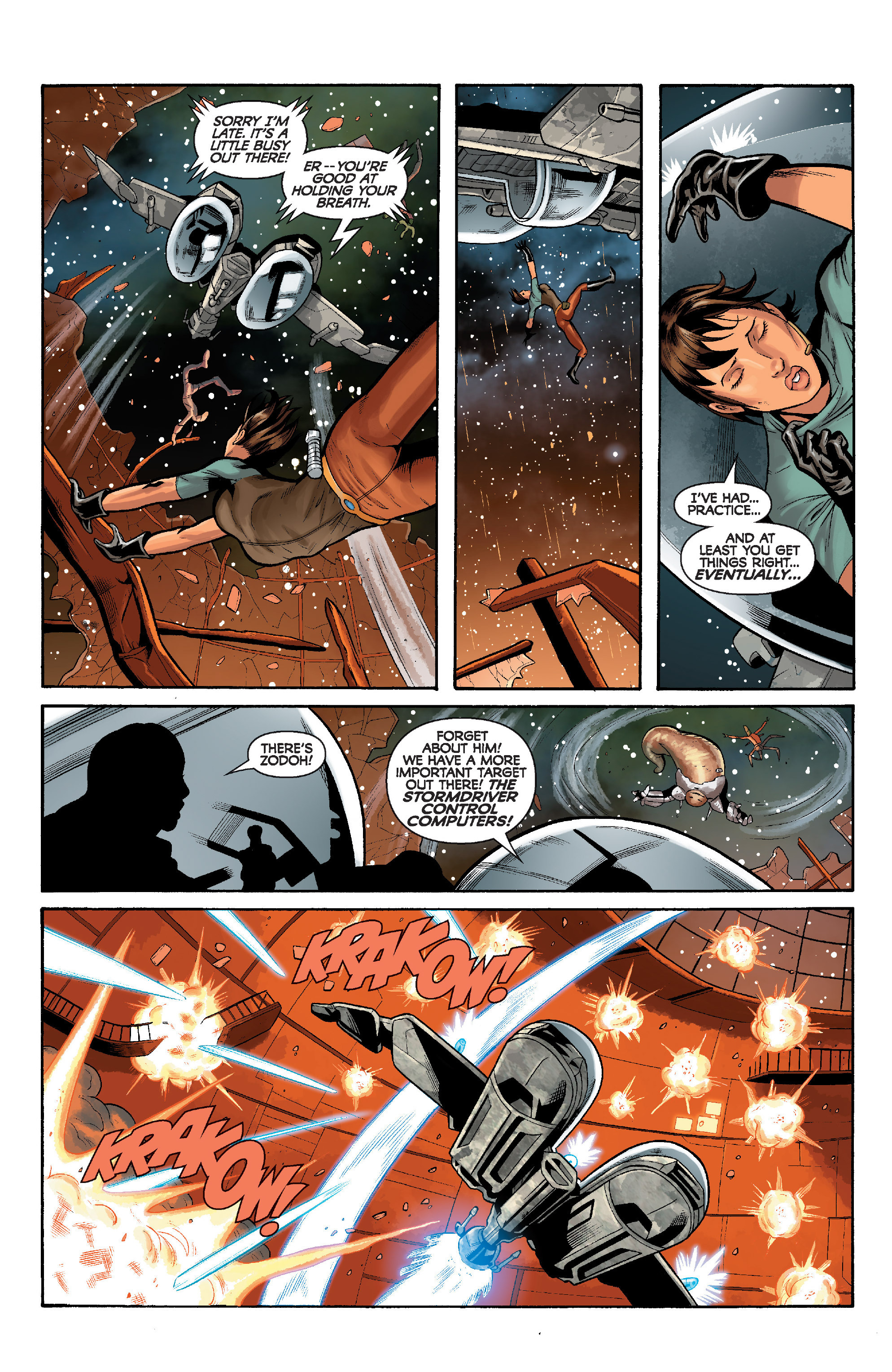 Read online Star Wars: Knight Errant - Deluge comic -  Issue #5 - 17
