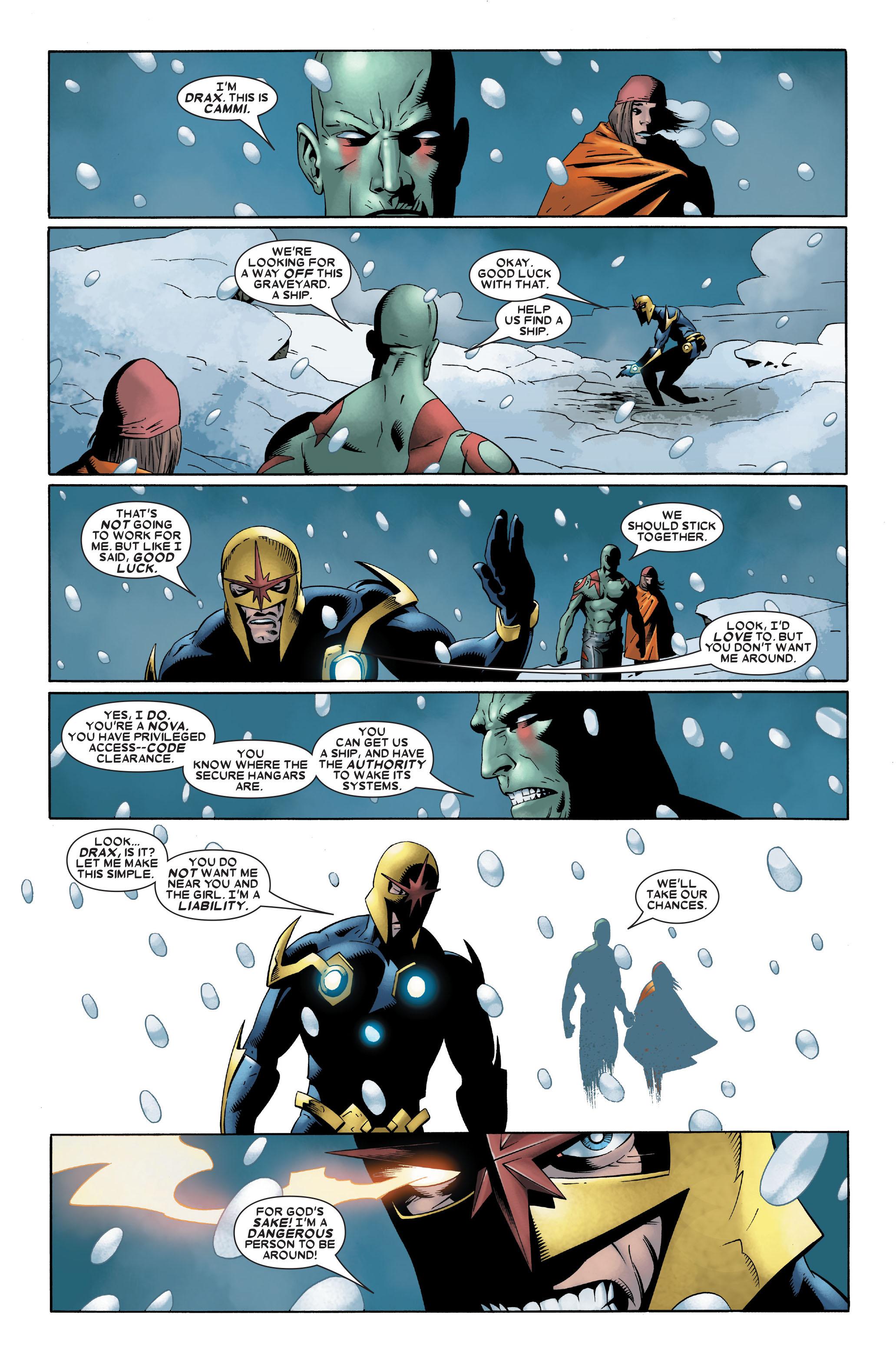 Read online Annihilation: Nova comic -  Issue #2 - 3