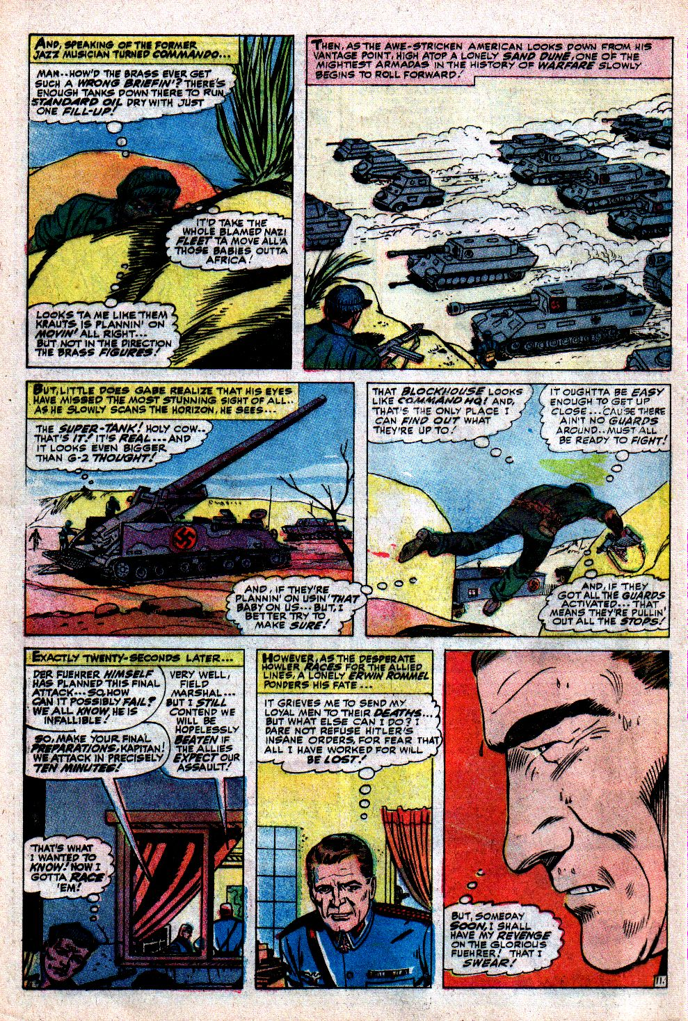 Read online Sgt. Fury comic -  Issue #43 - 16