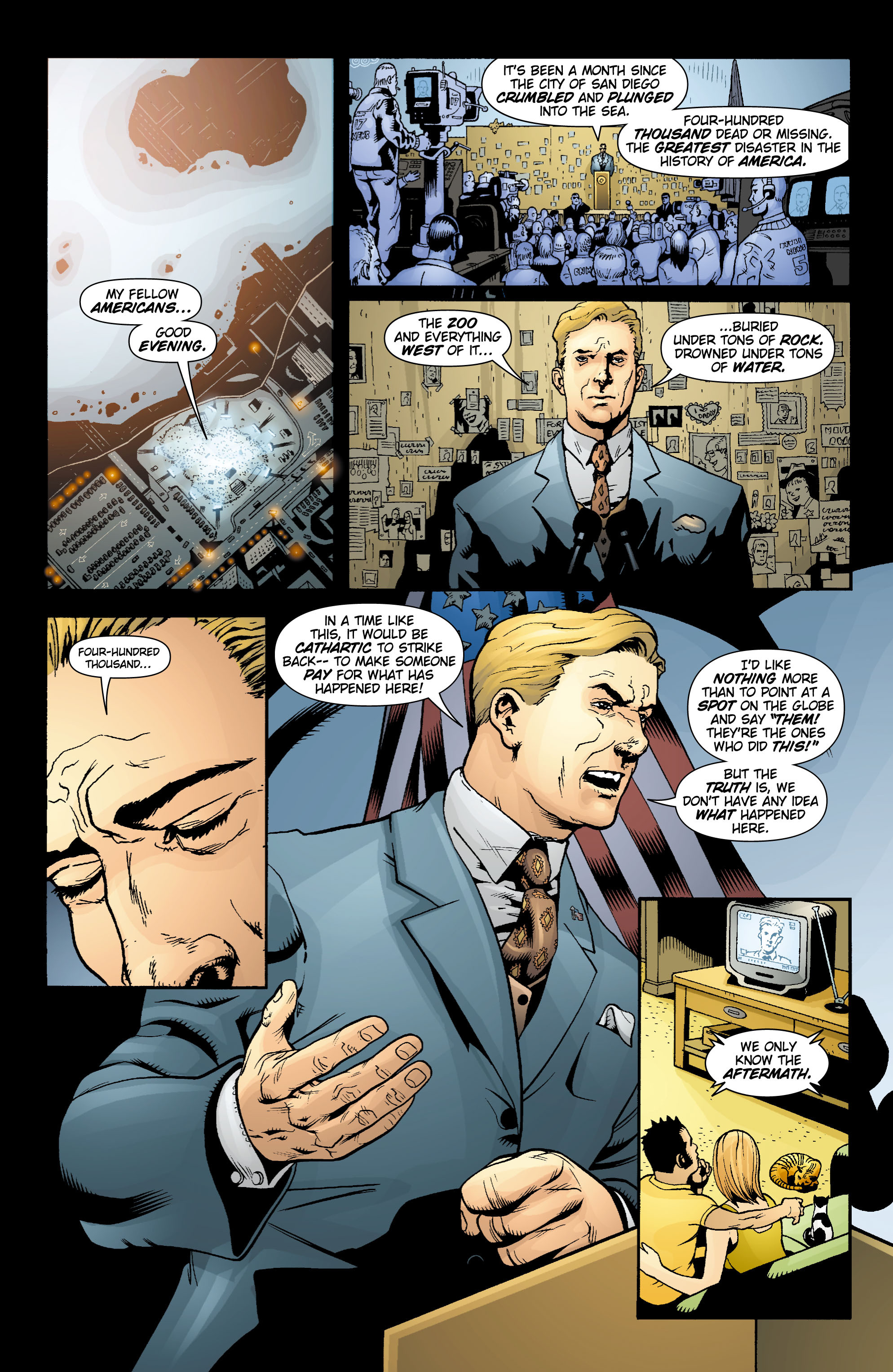 Read online Aquaman (2003) comic -  Issue #15 - 11