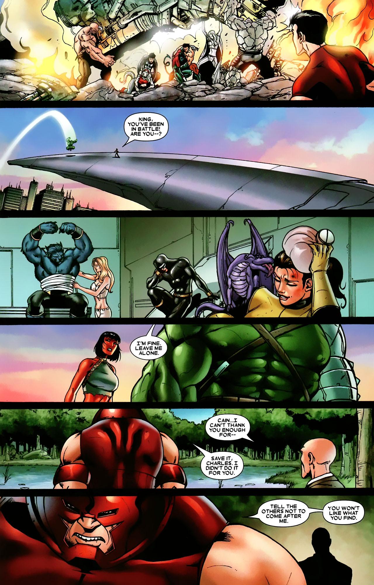 Read online World War Hulk: X-Men comic -  Issue #3 - 23