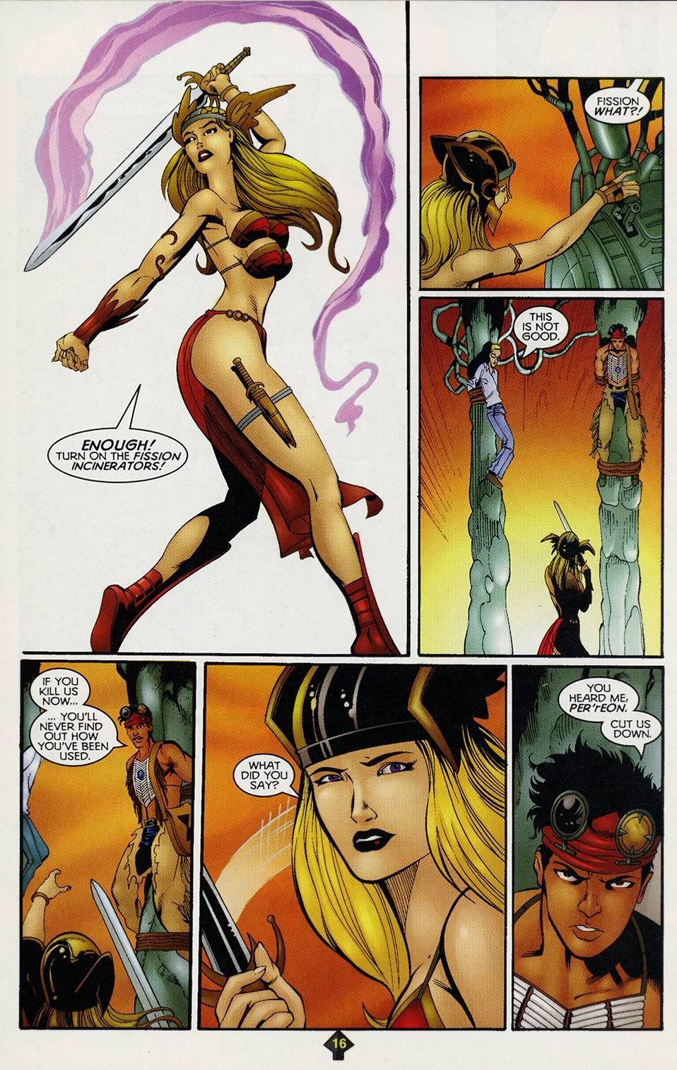 Read online Turok comic -  Issue #3 - 16