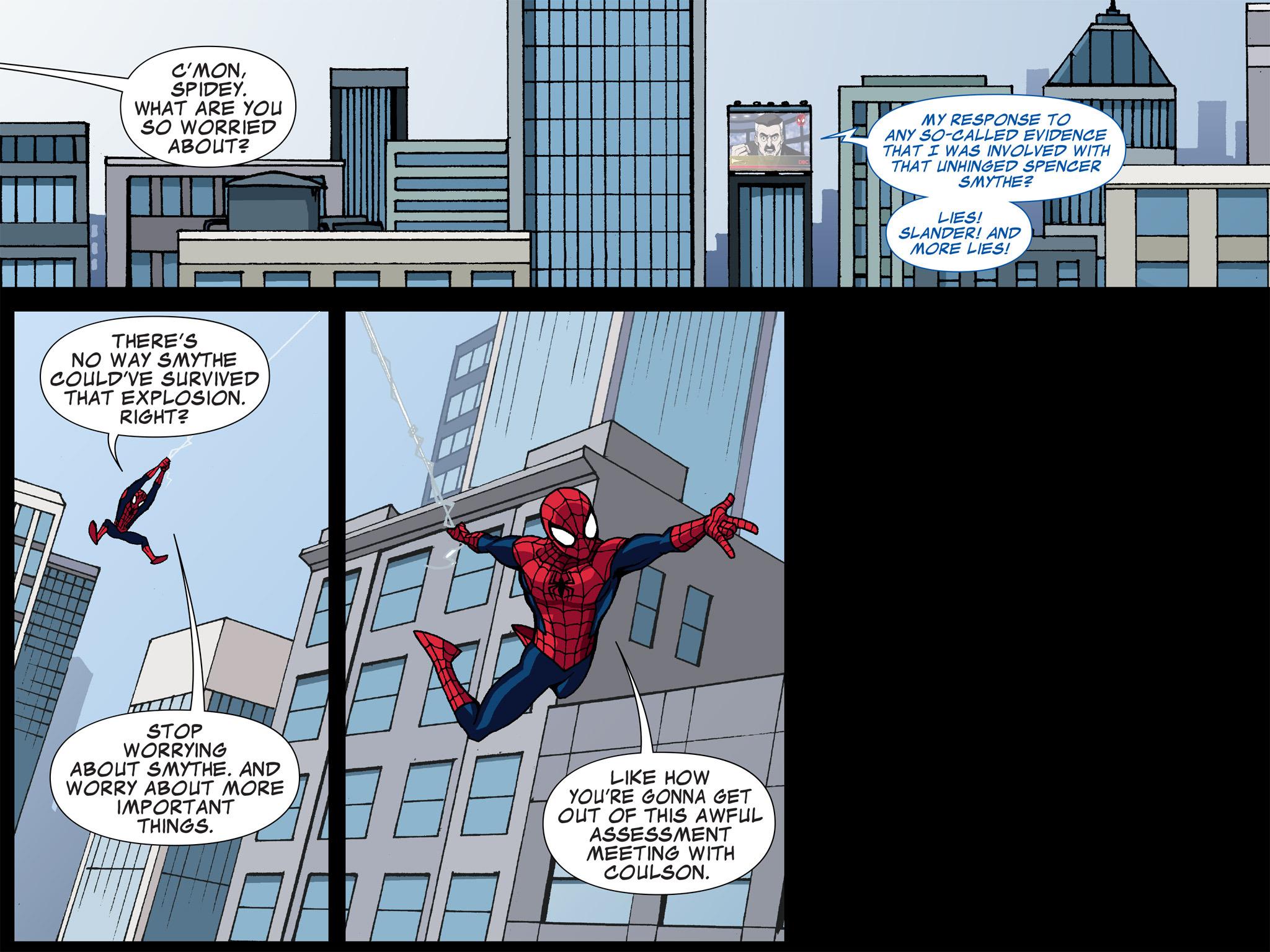 Read online Ultimate Spider-Man (Infinite Comics) (2015) comic -  Issue #5 - 12