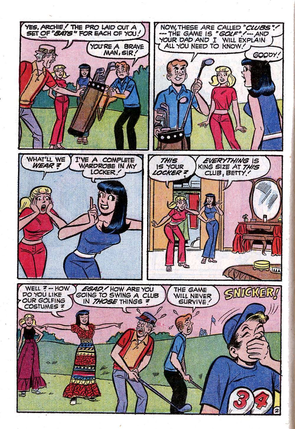 Read online Archie (1960) comic -  Issue #222 - 14
