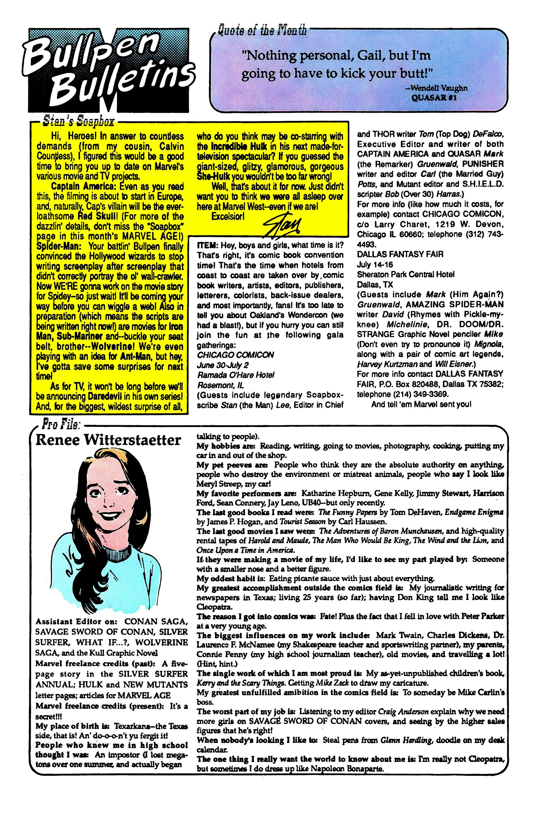 Read online Uncanny X-Men (1963) comic -  Issue #249 - 21