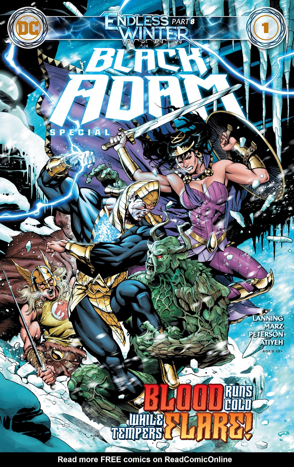 Black Adam: Endless Winter Special issue Full - Page 1