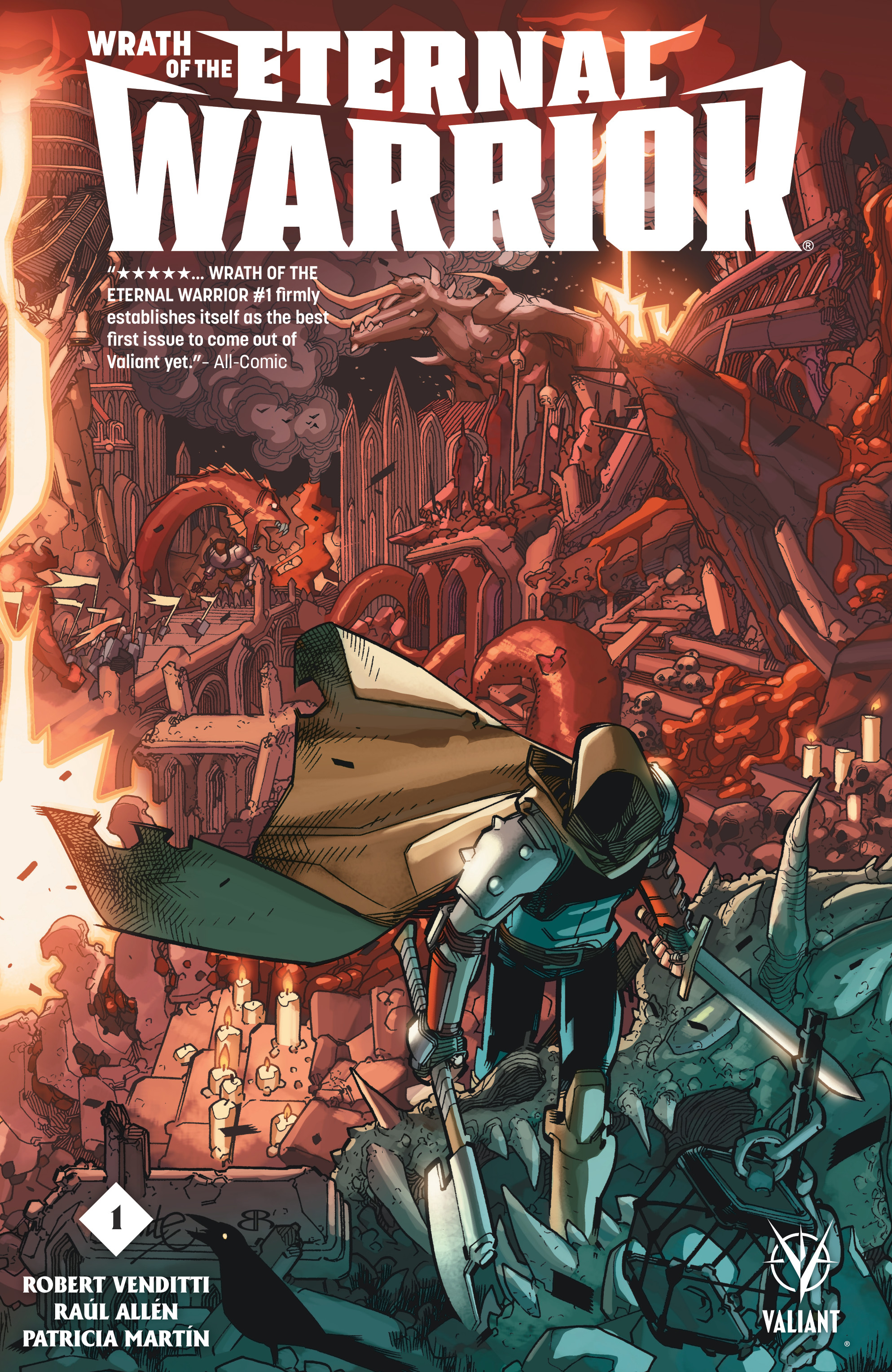 Read online Wrath of the Eternal Warrior comic -  Issue #1 - 1