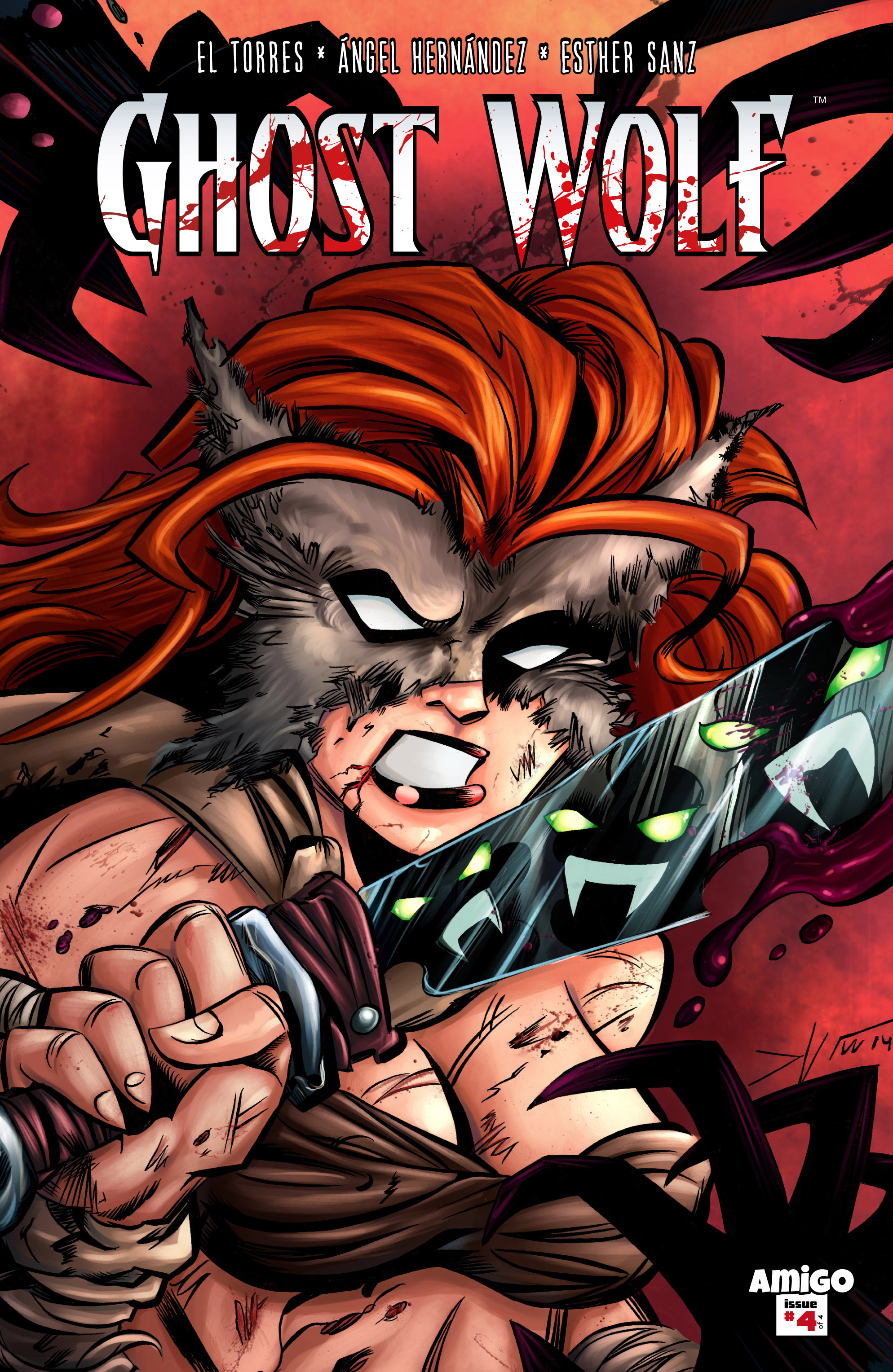 Read online Ghost Wolf comic -  Issue #4 - 1