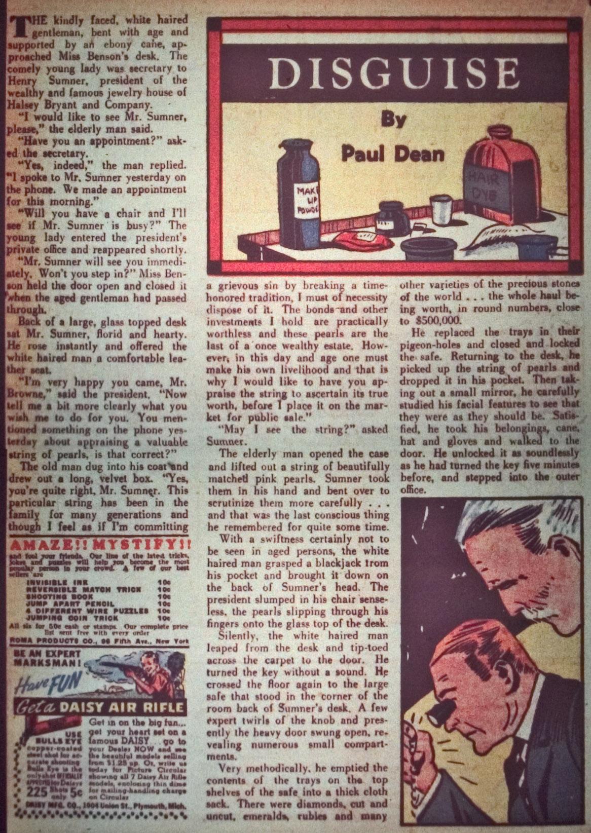 Read online Detective Comics (1937) comic -  Issue #26 - 34