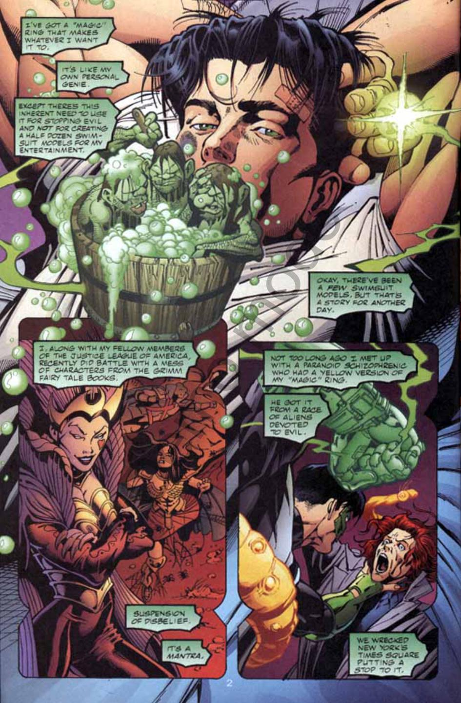 Read online Green Lantern: Our Worlds At War comic -  Issue # Full - 3