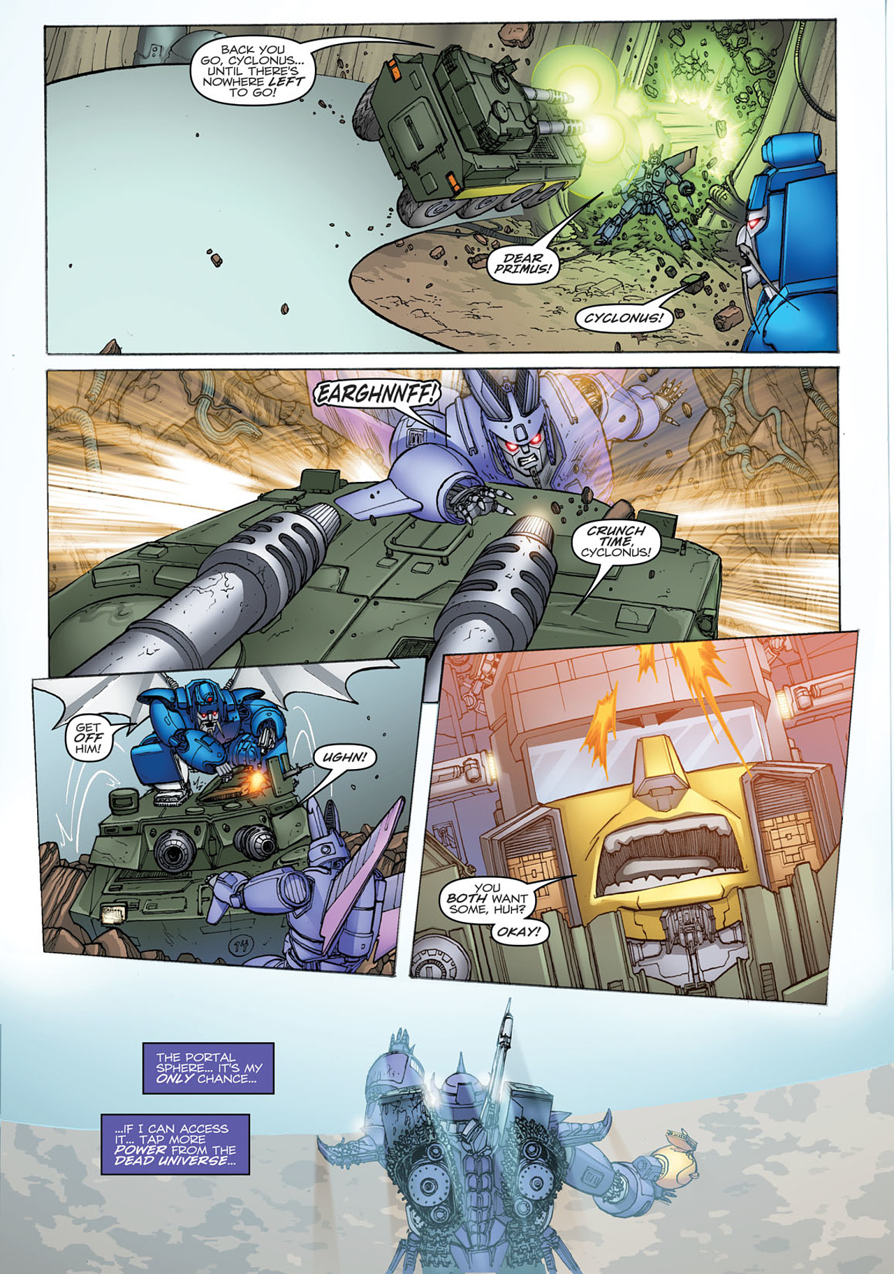 Read online Transformers: Heart of Darkness comic -  Issue #2 - 7