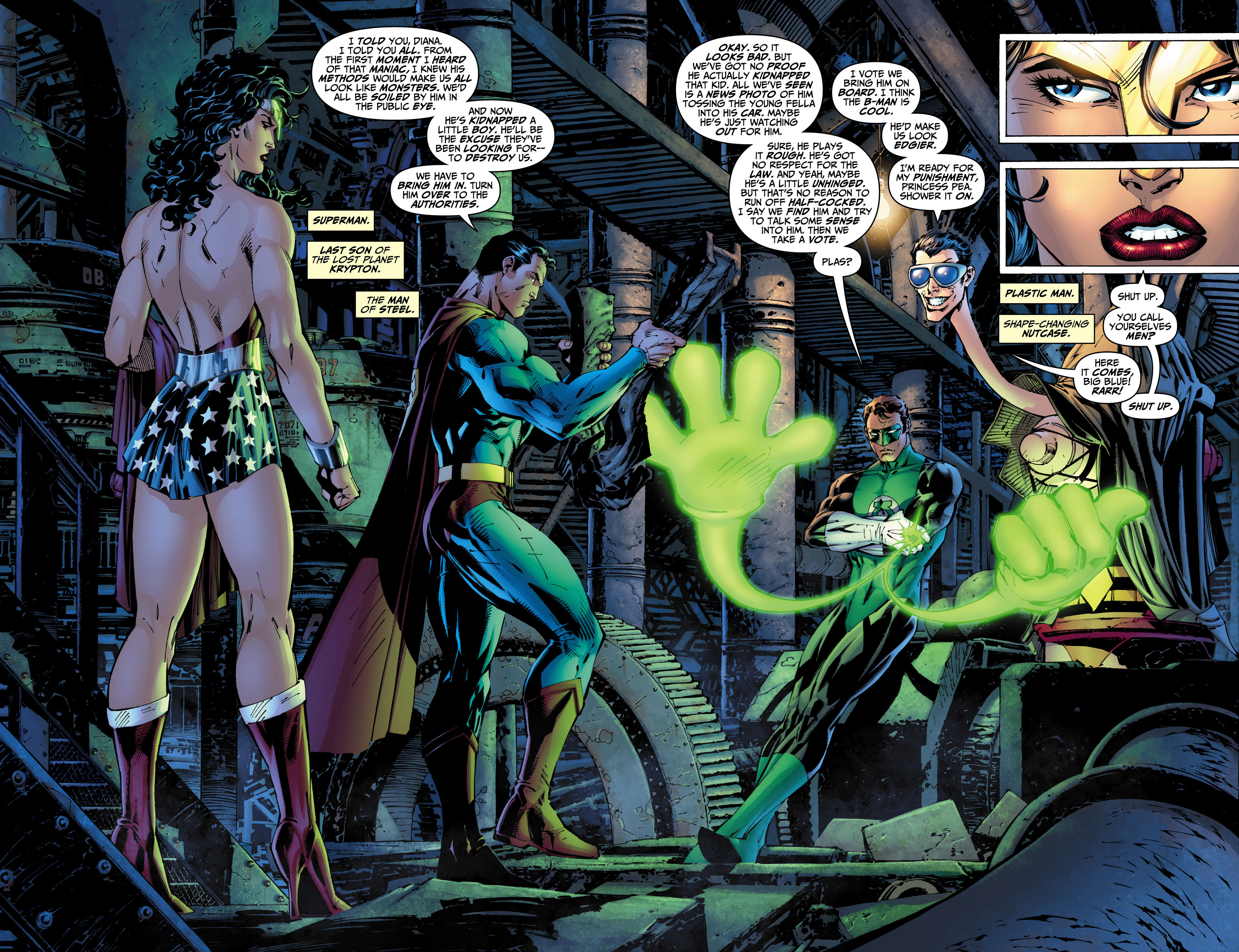 Read online All Star Batman & Robin, The Boy Wonder comic -  Issue #5 - 5