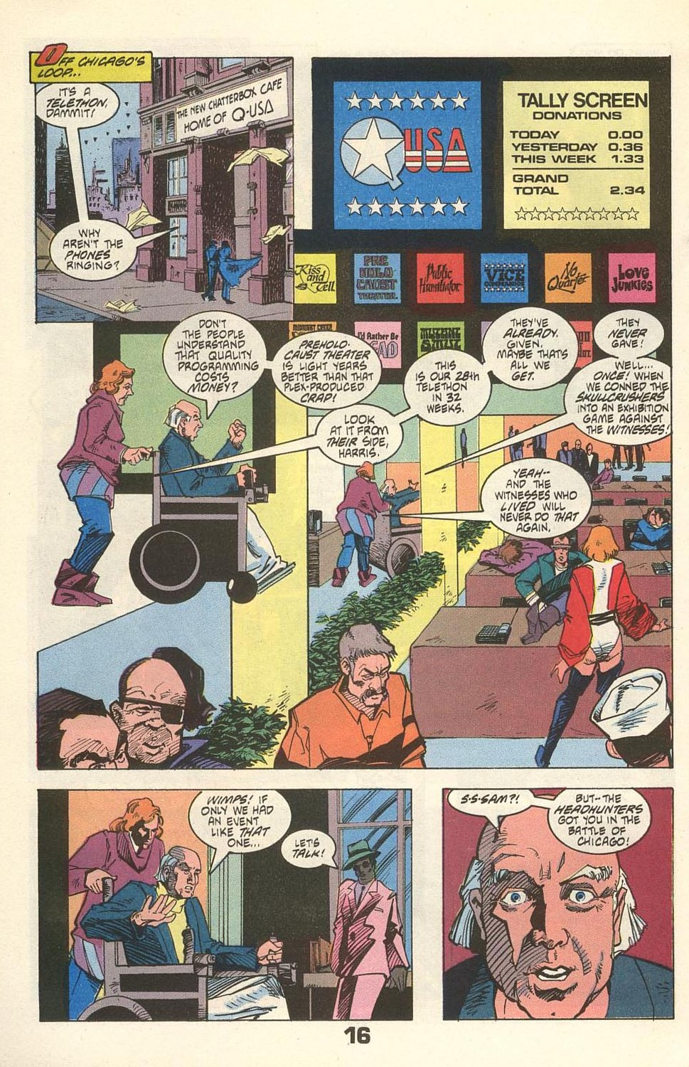 Read online American Flagg! comic -  Issue #31 - 20