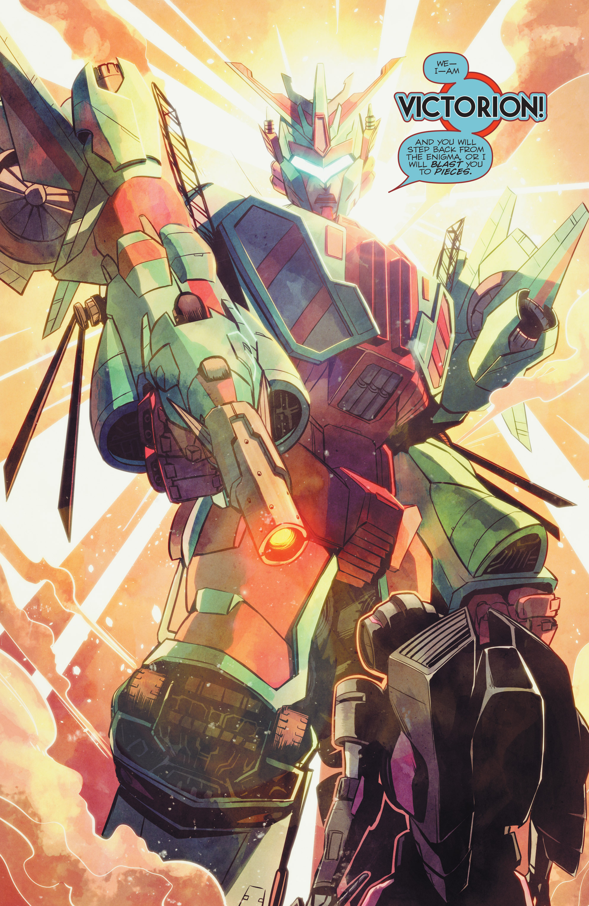 Read online Transformers: Combiner Hunters comic -  Issue # Full - 15