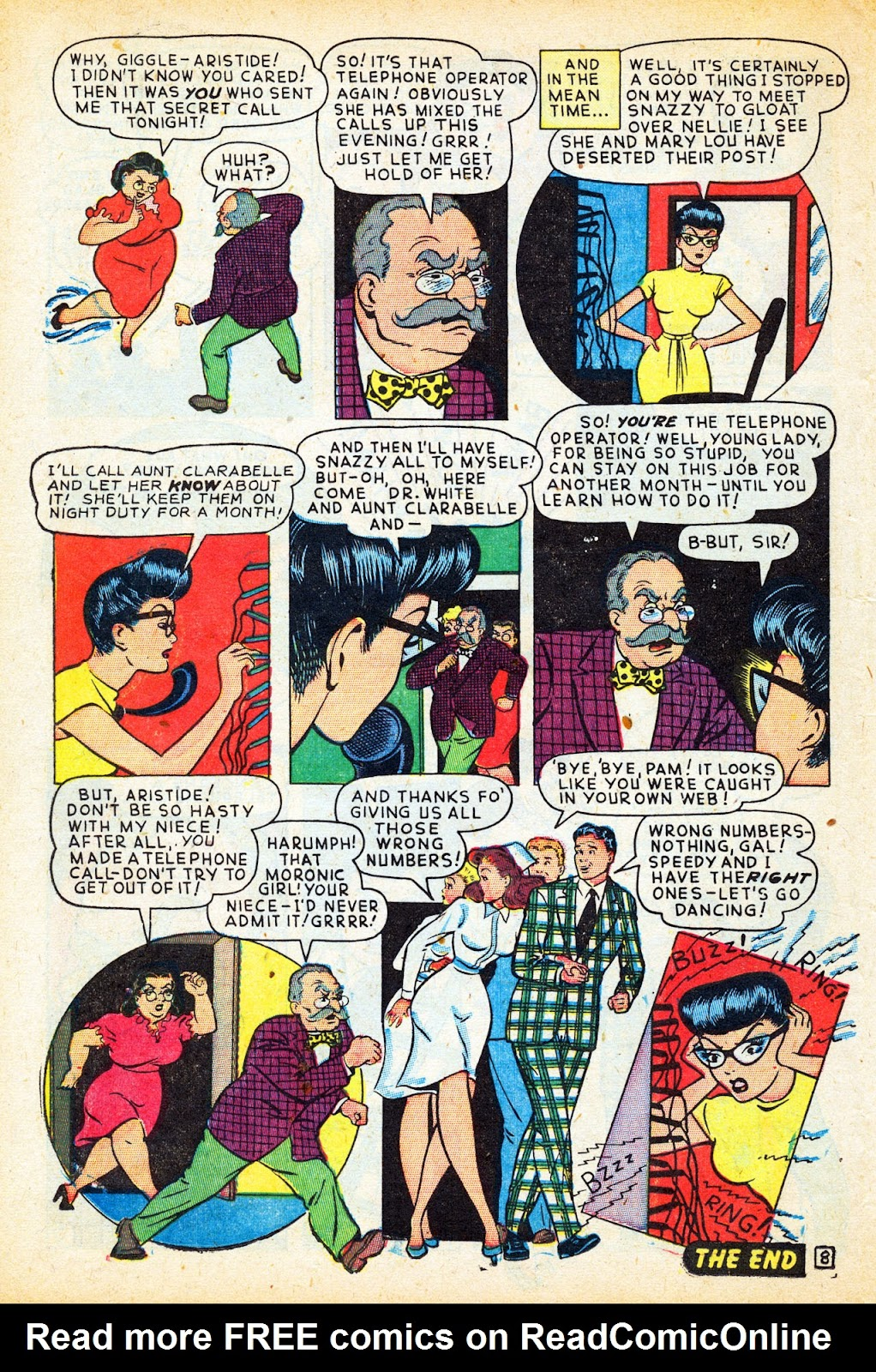 Read online Nellie The Nurse (1945) comic -  Issue #12 - 36