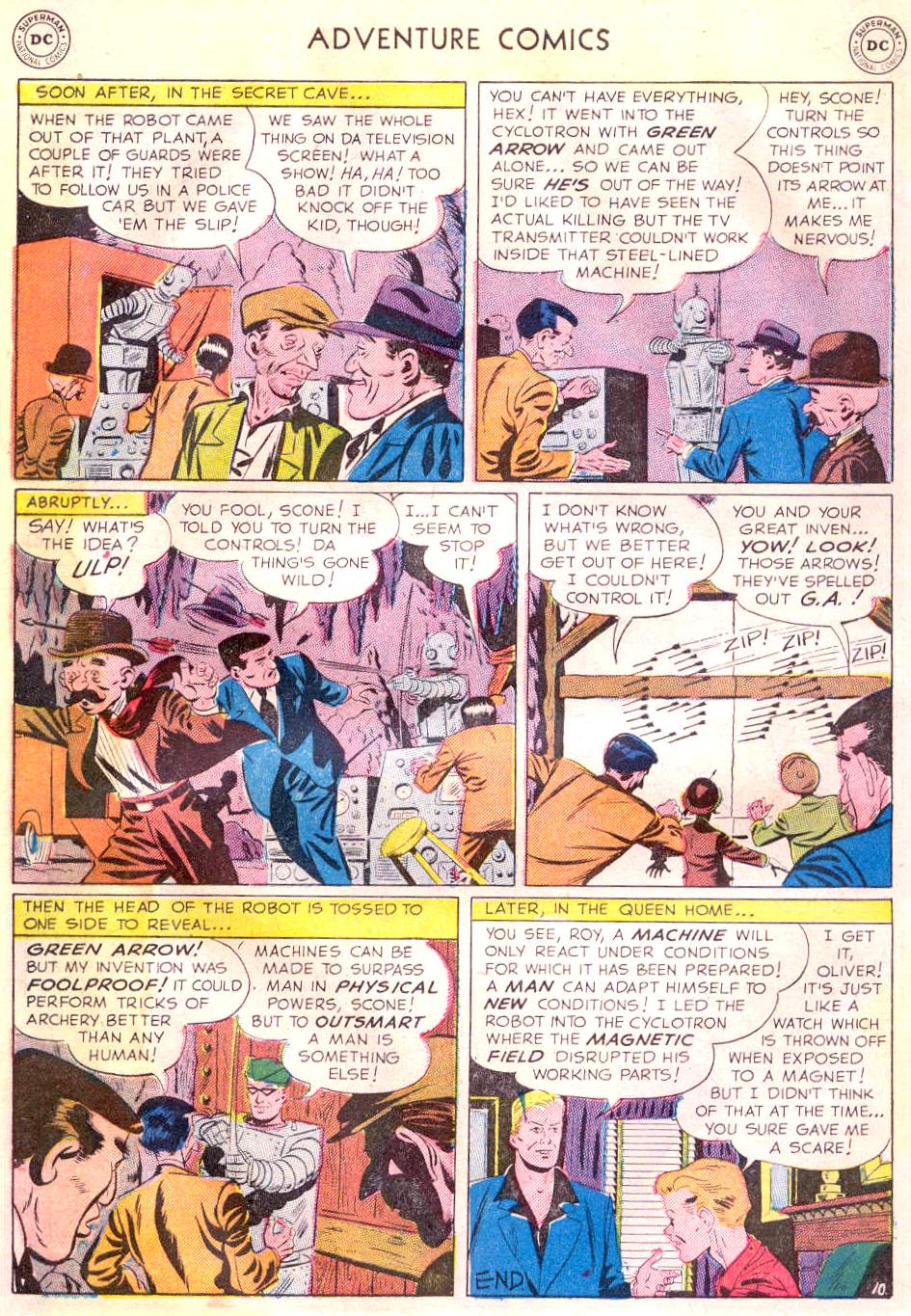 Read online Adventure Comics (1938) comic -  Issue #166 - 40