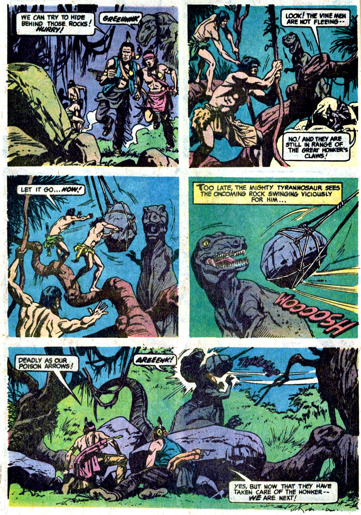 Read online Turok, Son of Stone comic -  Issue #114 - 23