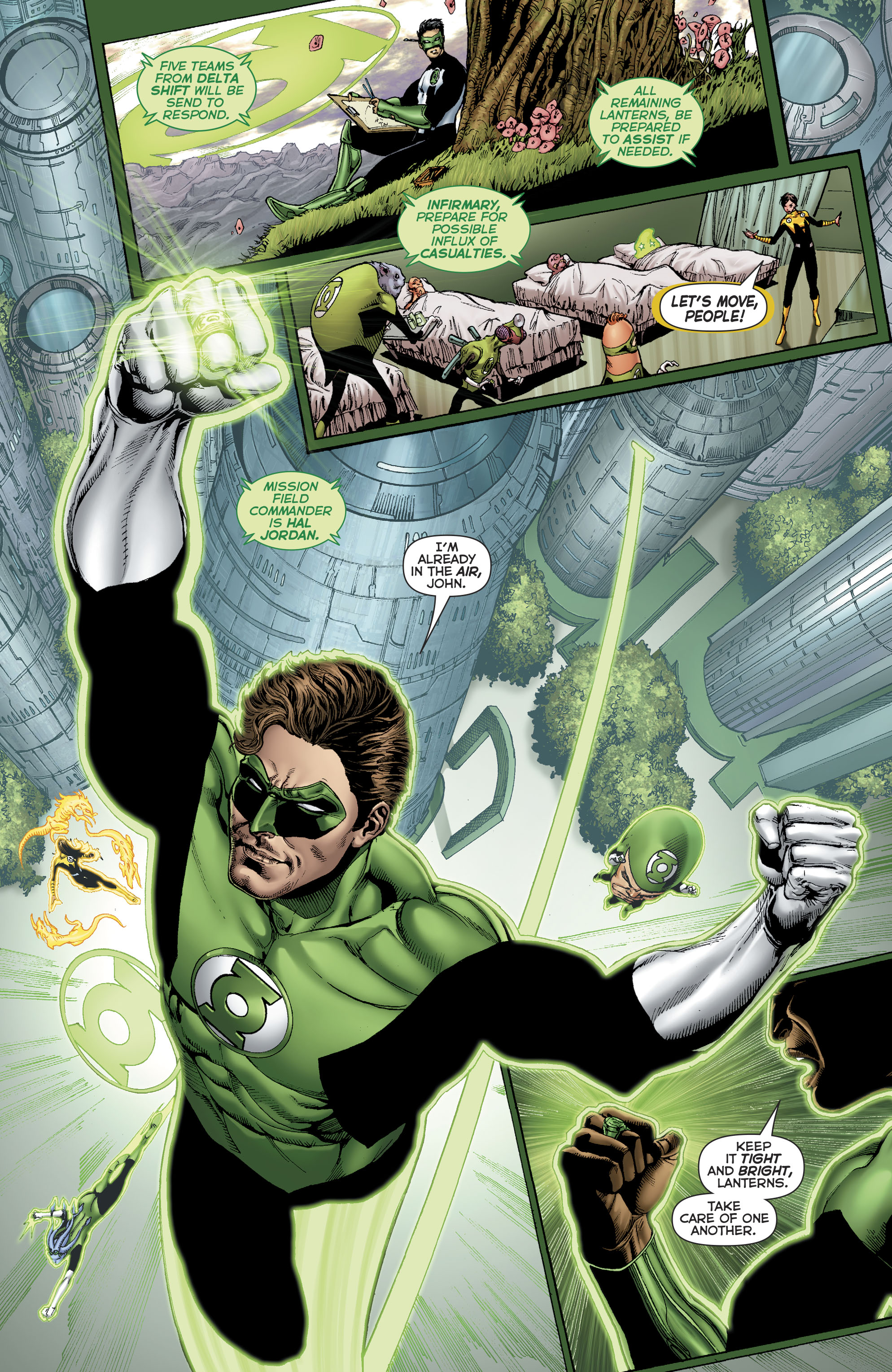 Read online Hal Jordan And The Green Lantern Corps comic -  Issue #22 - 8