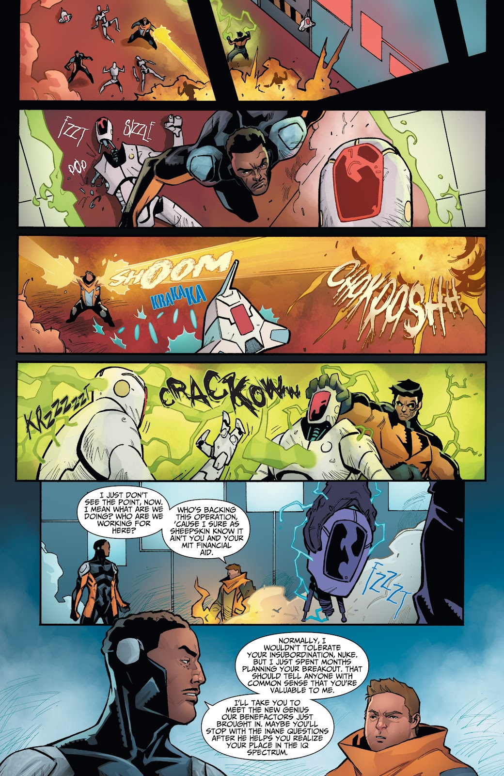 Read online Incidentals comic -  Issue #16 - 14