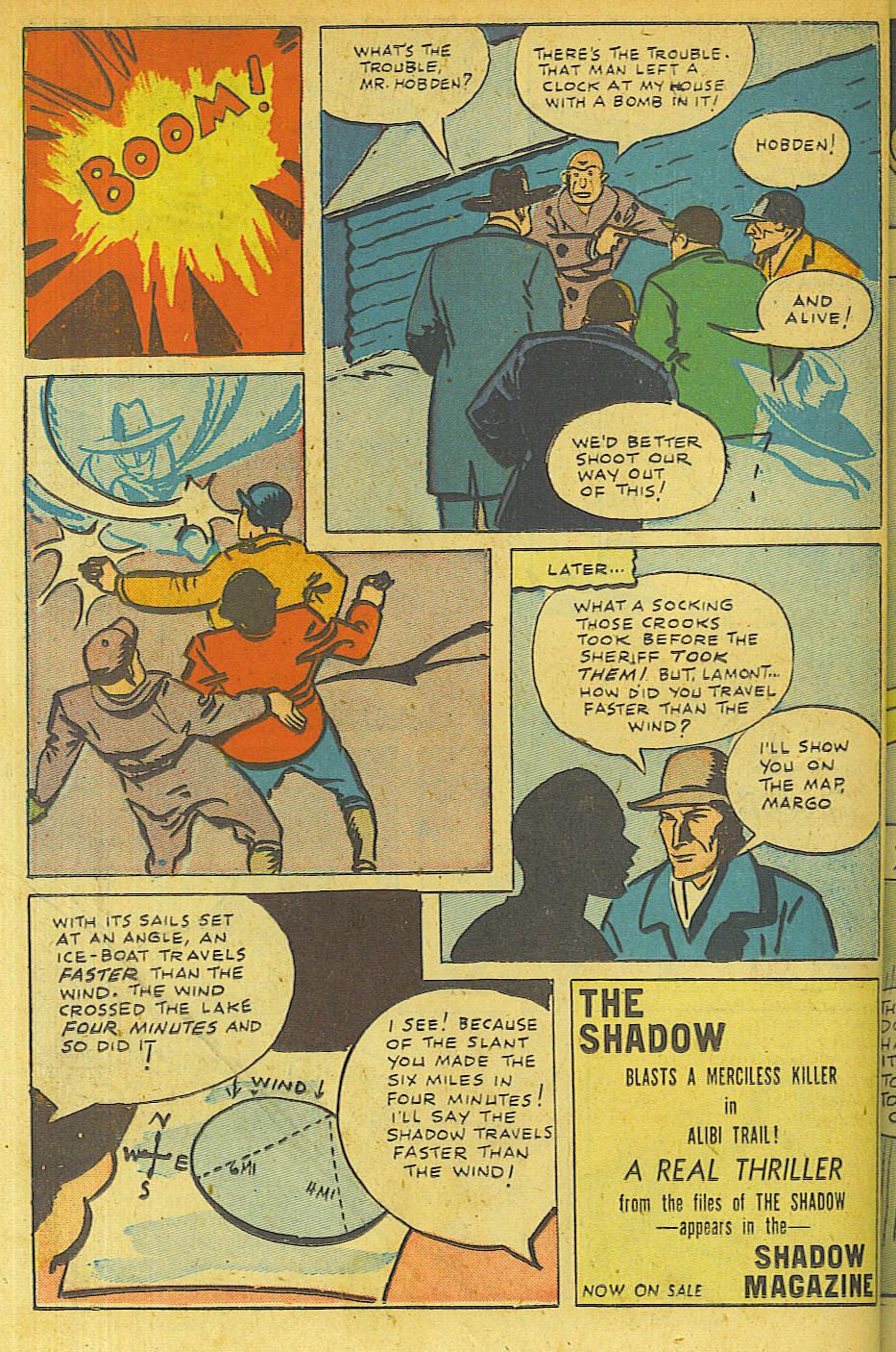 Read online Shadow Comics comic -  Issue #63 - 34